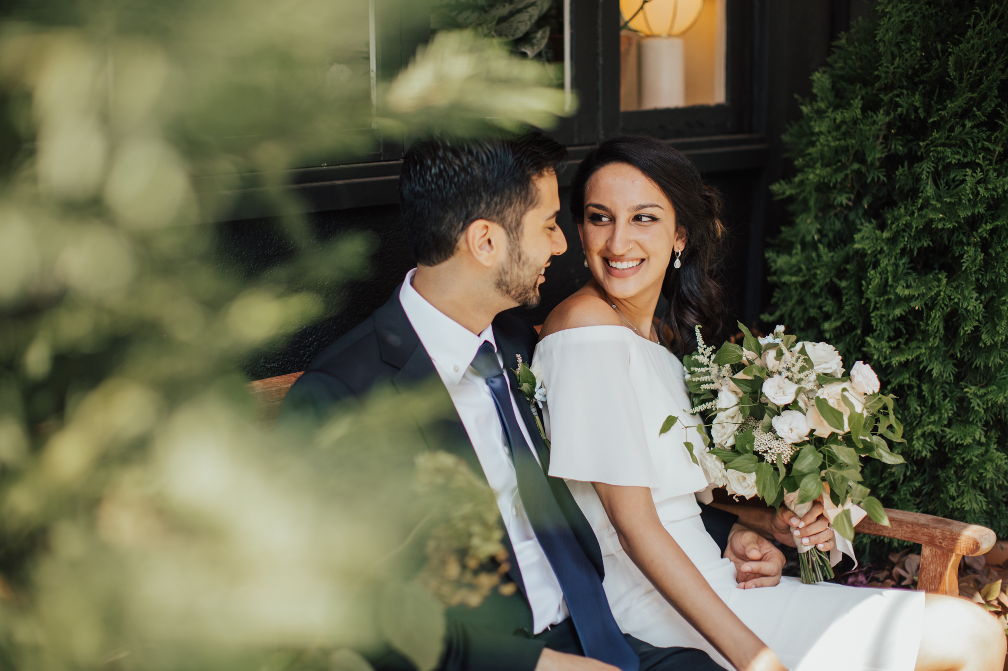 intimate west village wedding