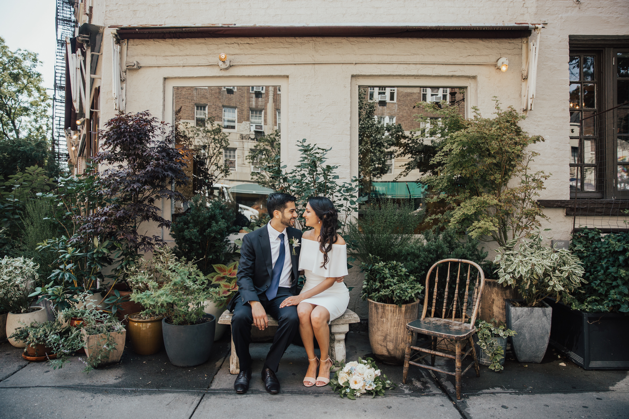 west village wedding photos
