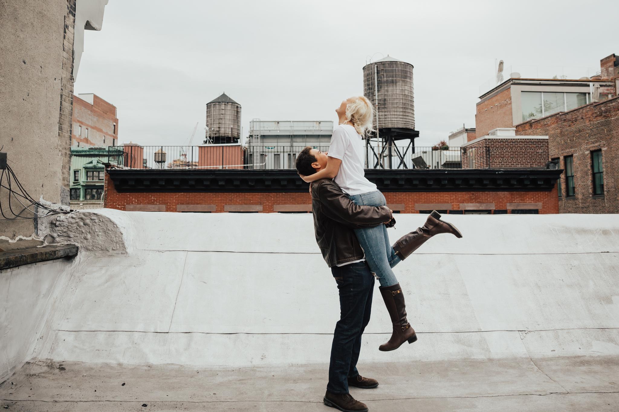 Inspirational Photos of nyc engagement