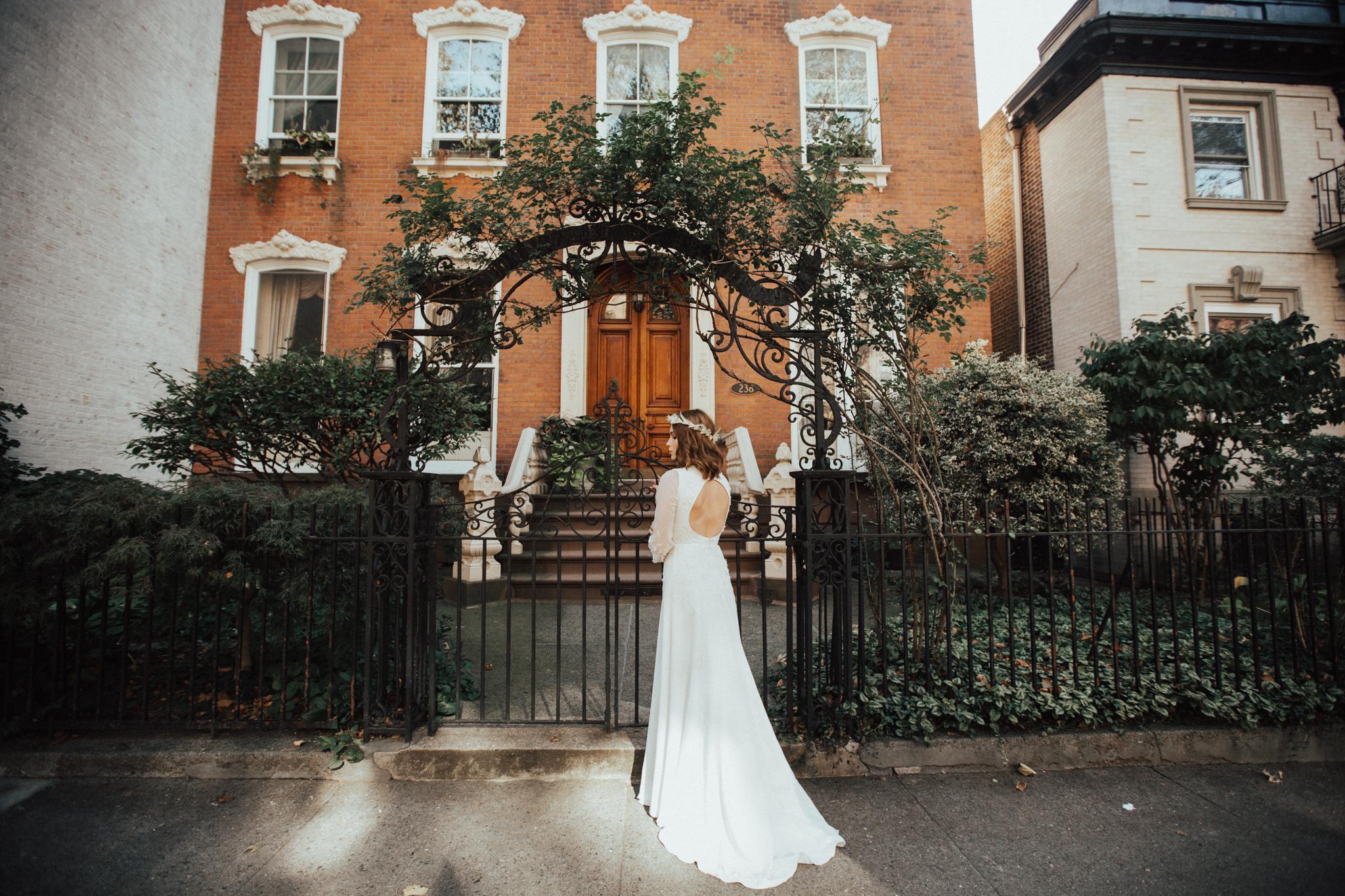 marina semone wedding dress