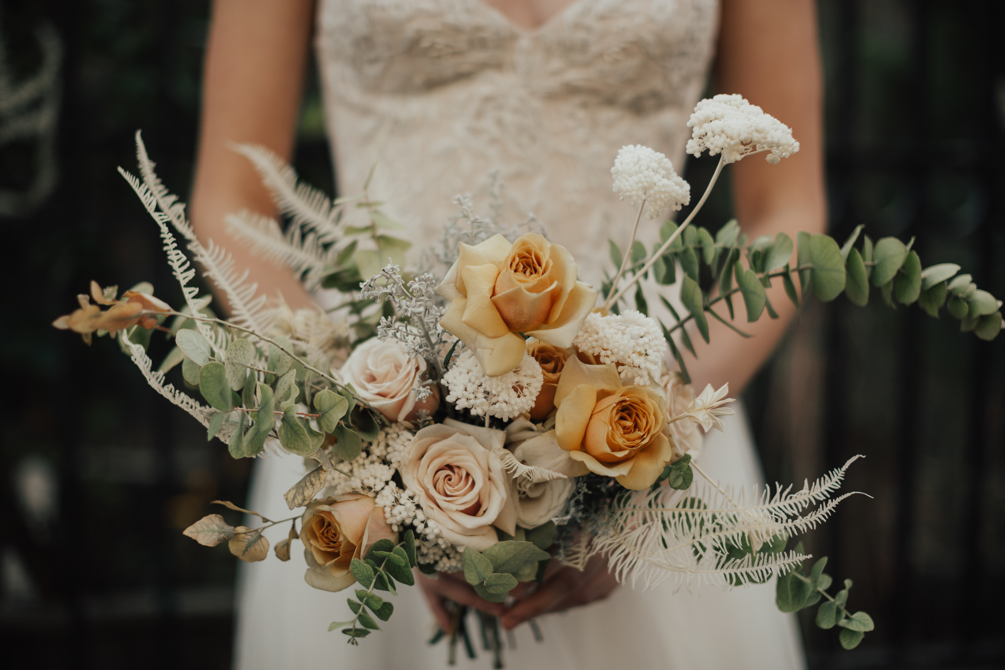 romantic spring bouquet