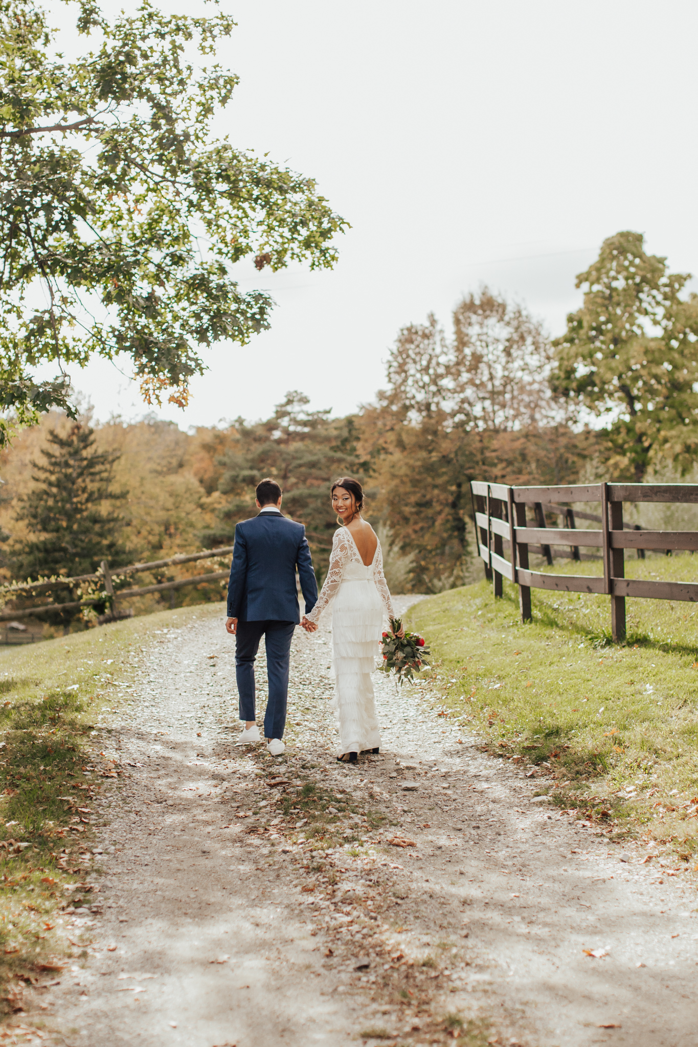 autumn new york wedding