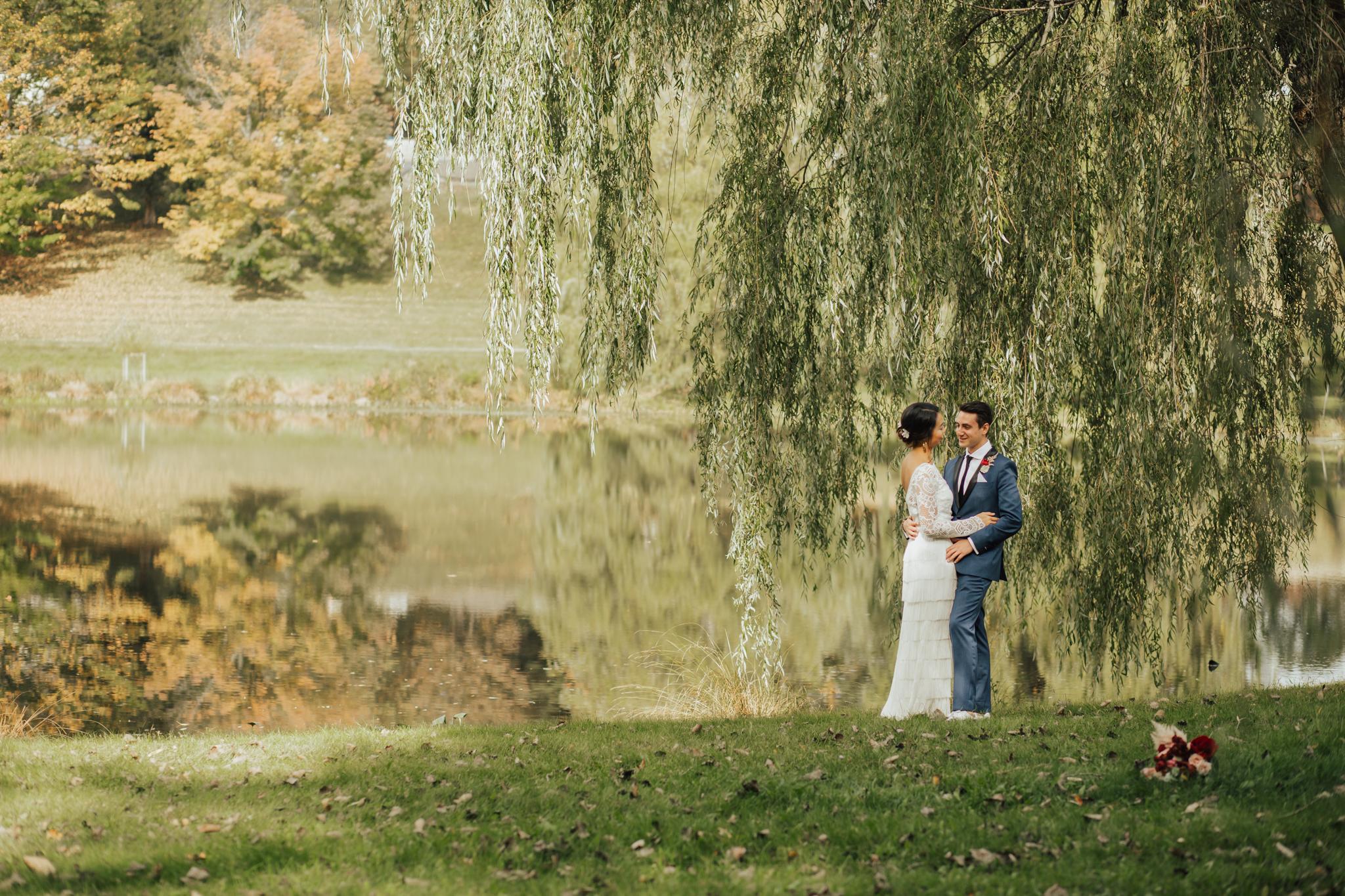 the farm at lily pond wedding