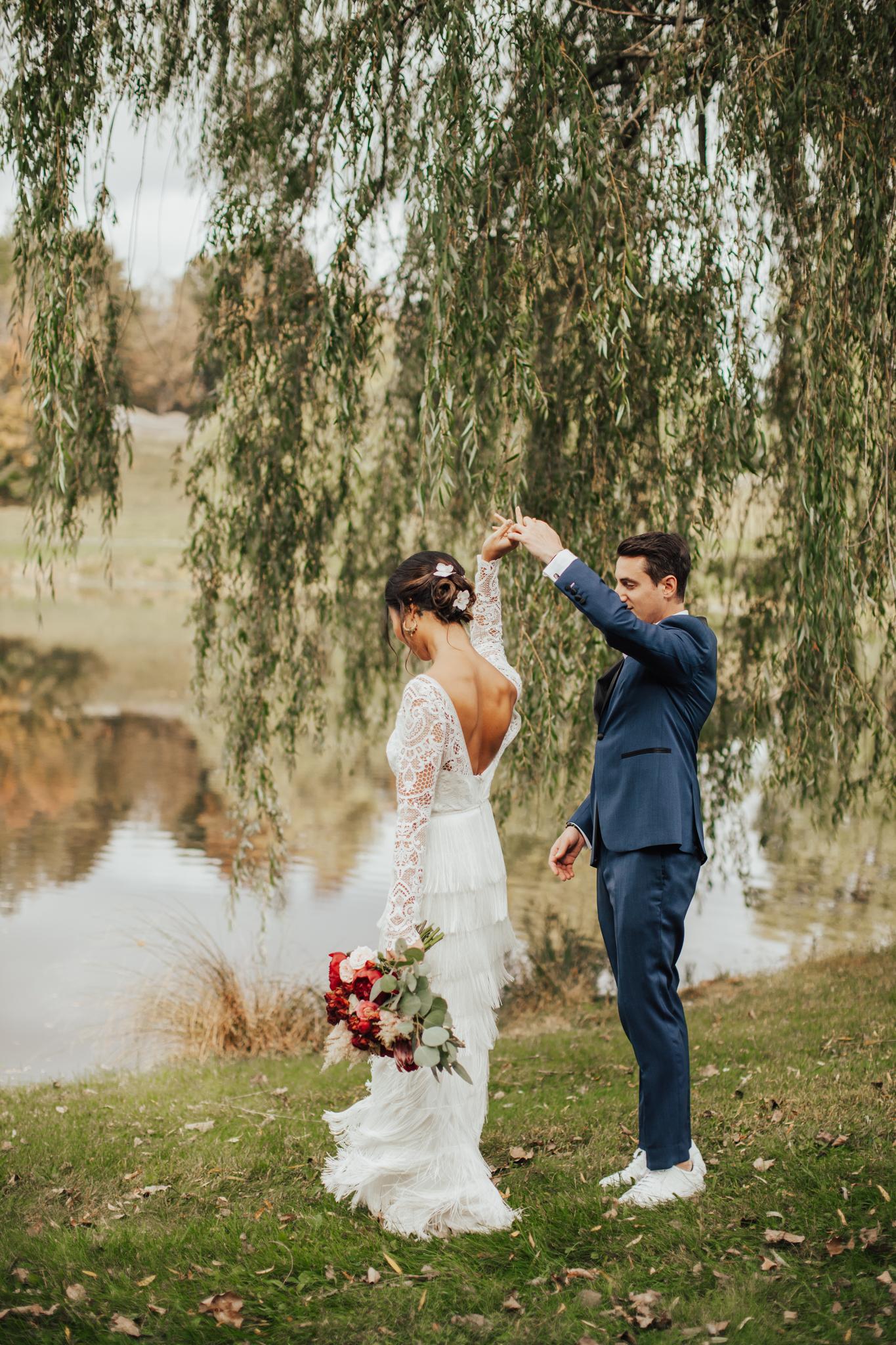 new york nature wedding photography