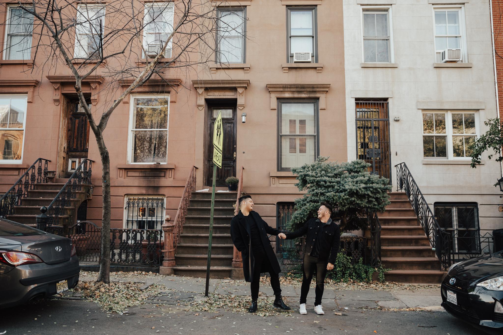 Brooklyn same sex engagement