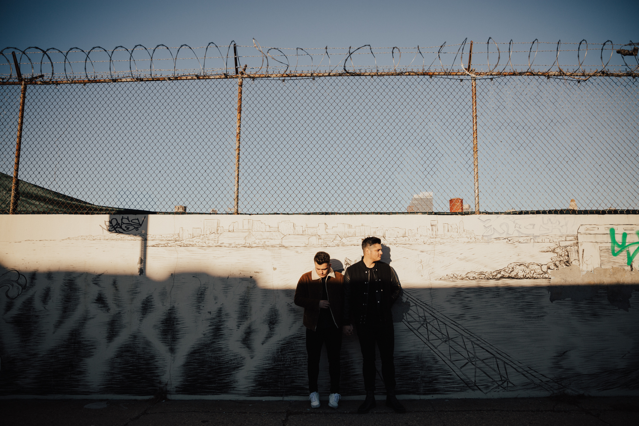 red hook engagement photography