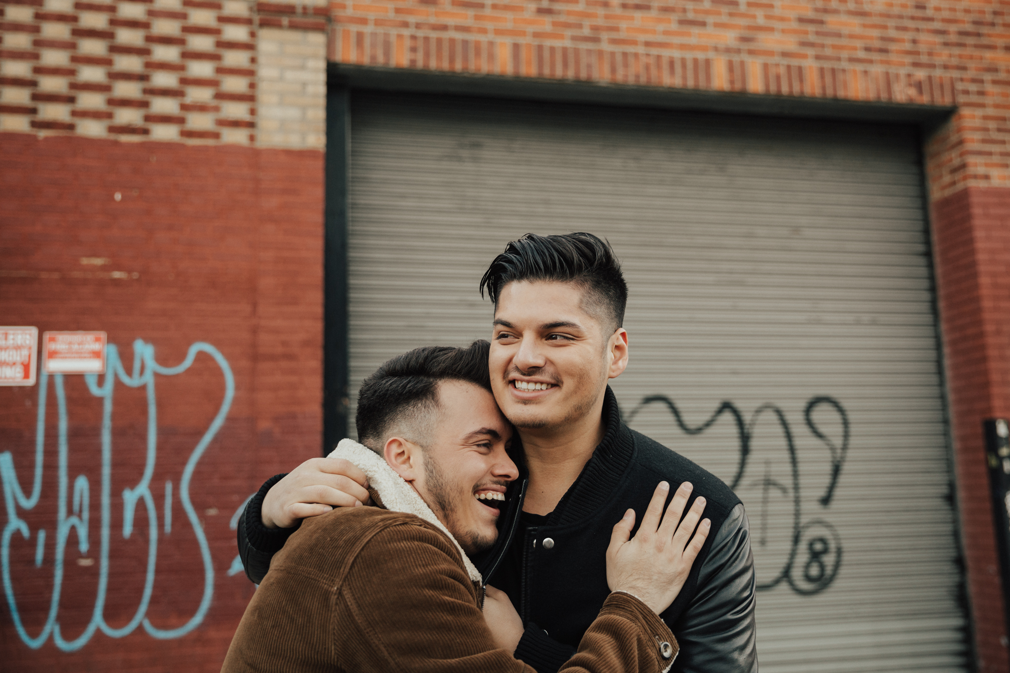 happy gay engagement