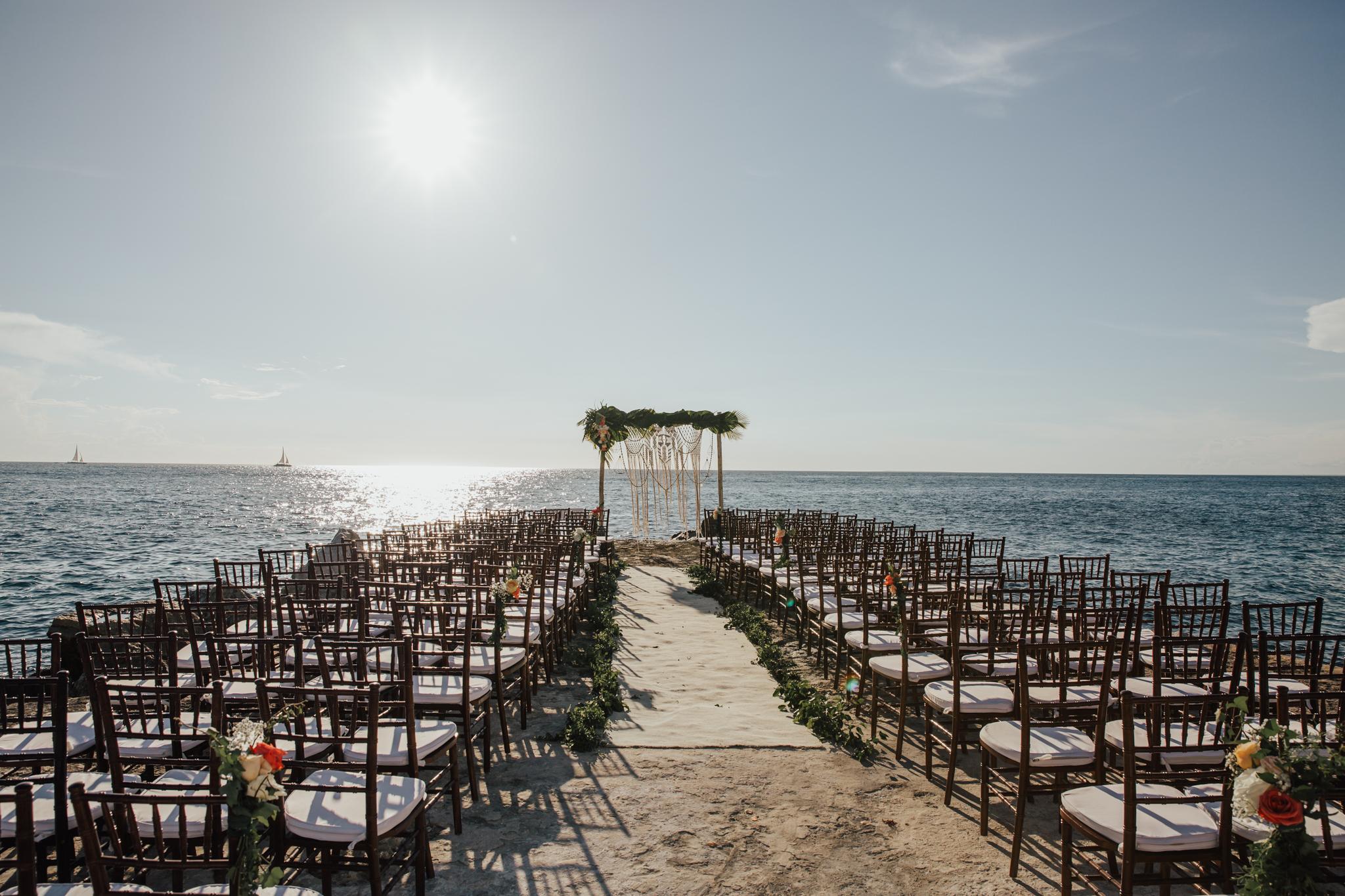 Tracadero Restaurant Dominican wedding