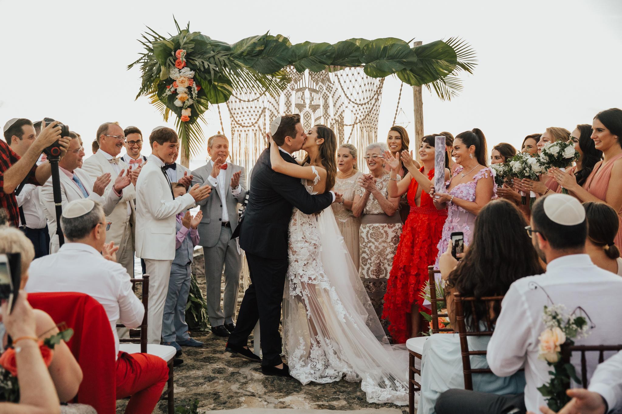 boho tropical wedding