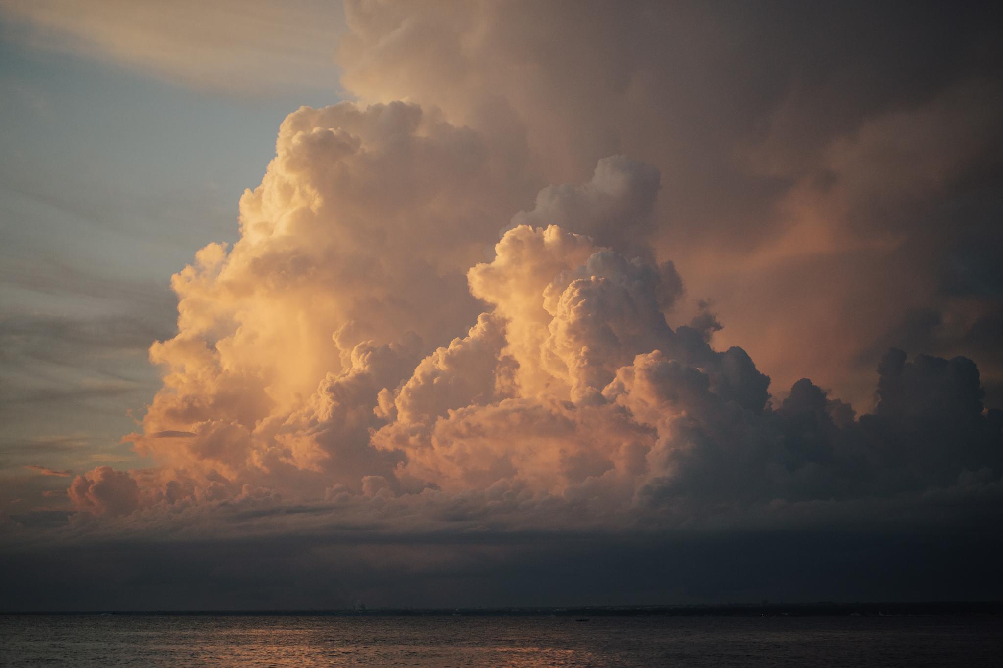 sunset dominican republic