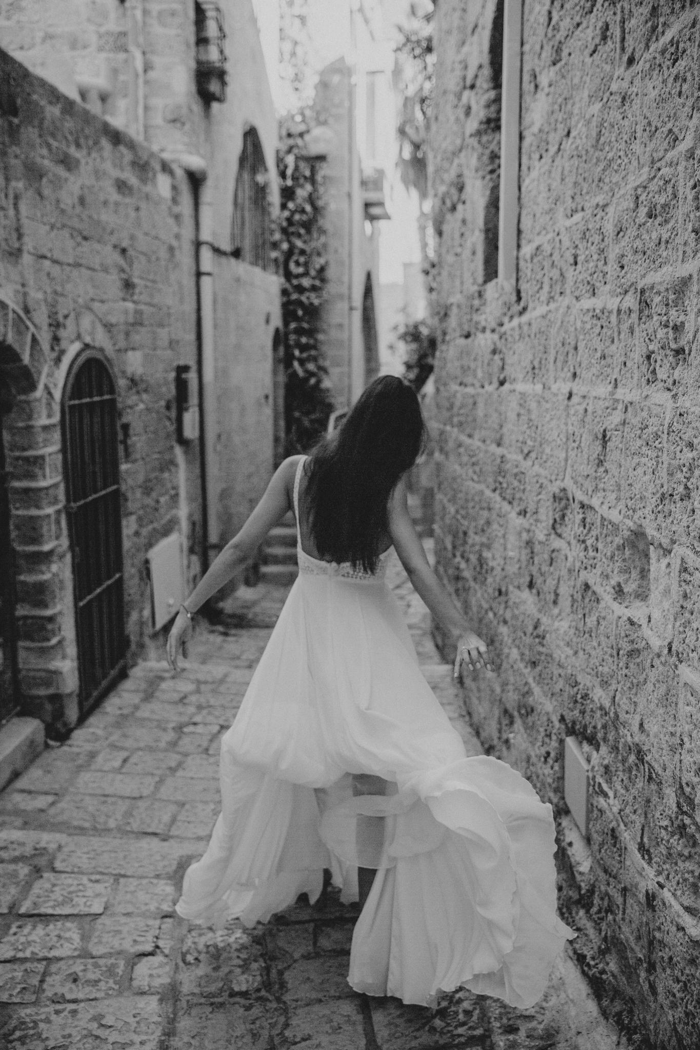 Intimate wedding in Tel Aviv