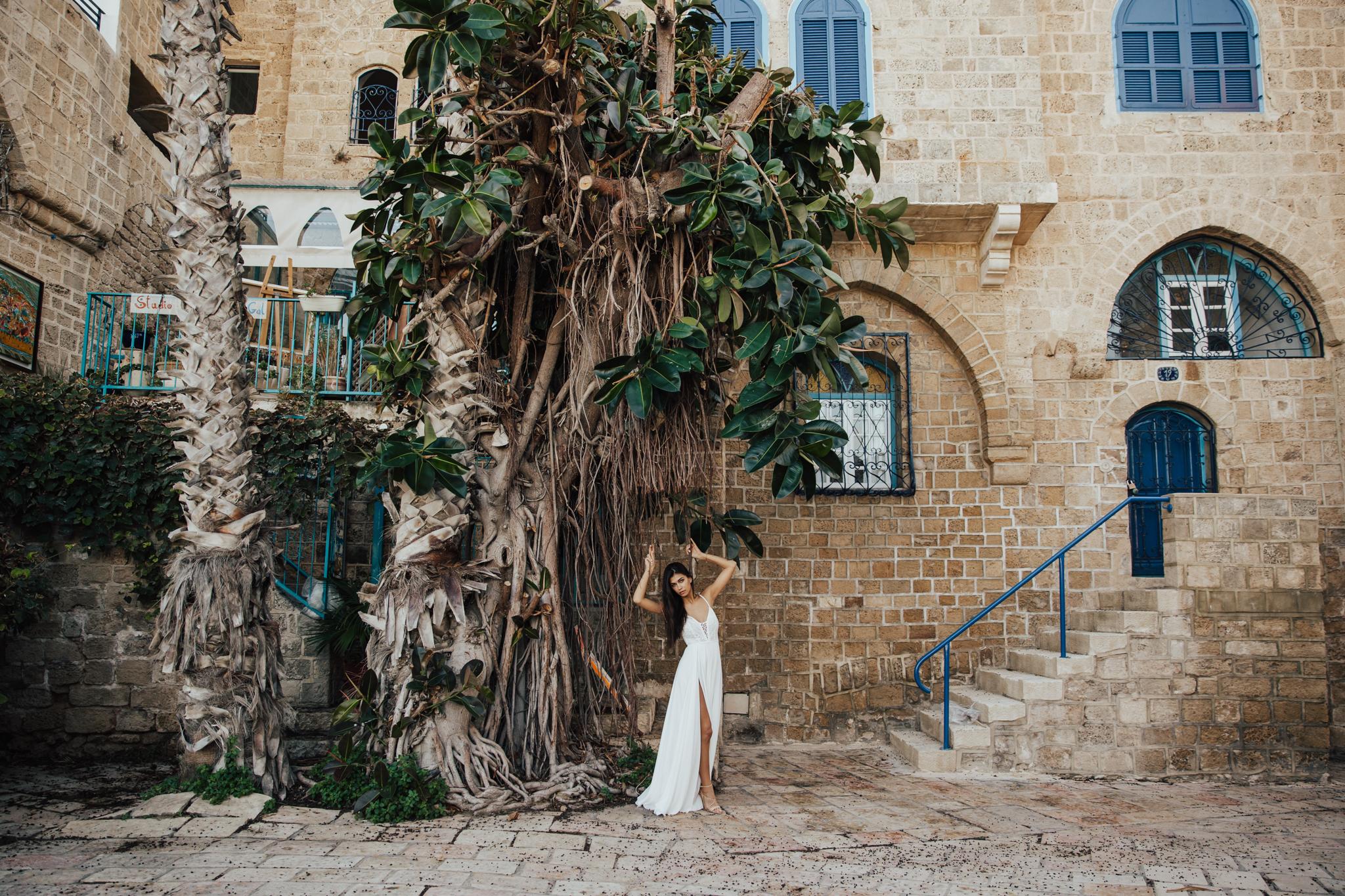 DIY bohemian desert wedding