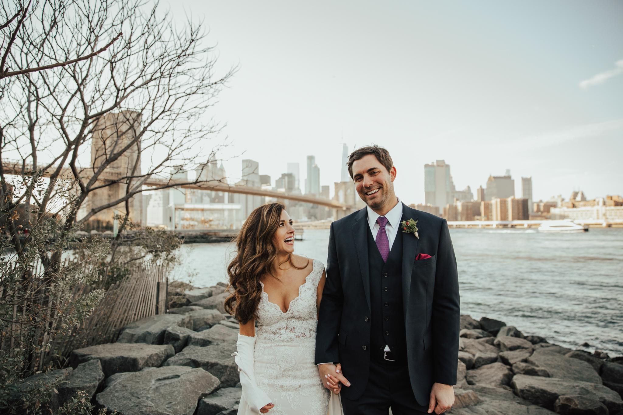 fun nyc wedding photography