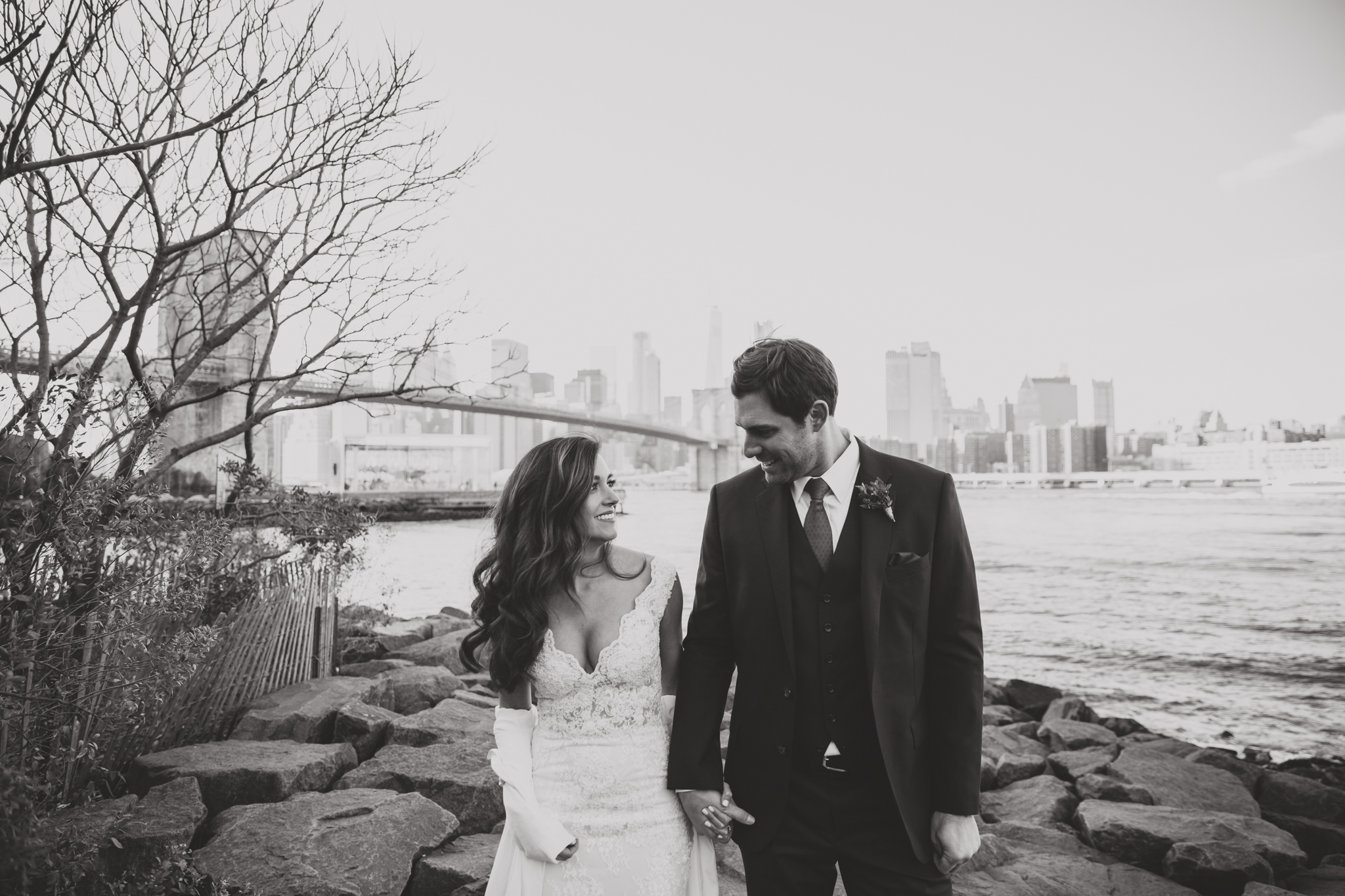 dreamy romantic nyc wedding photography