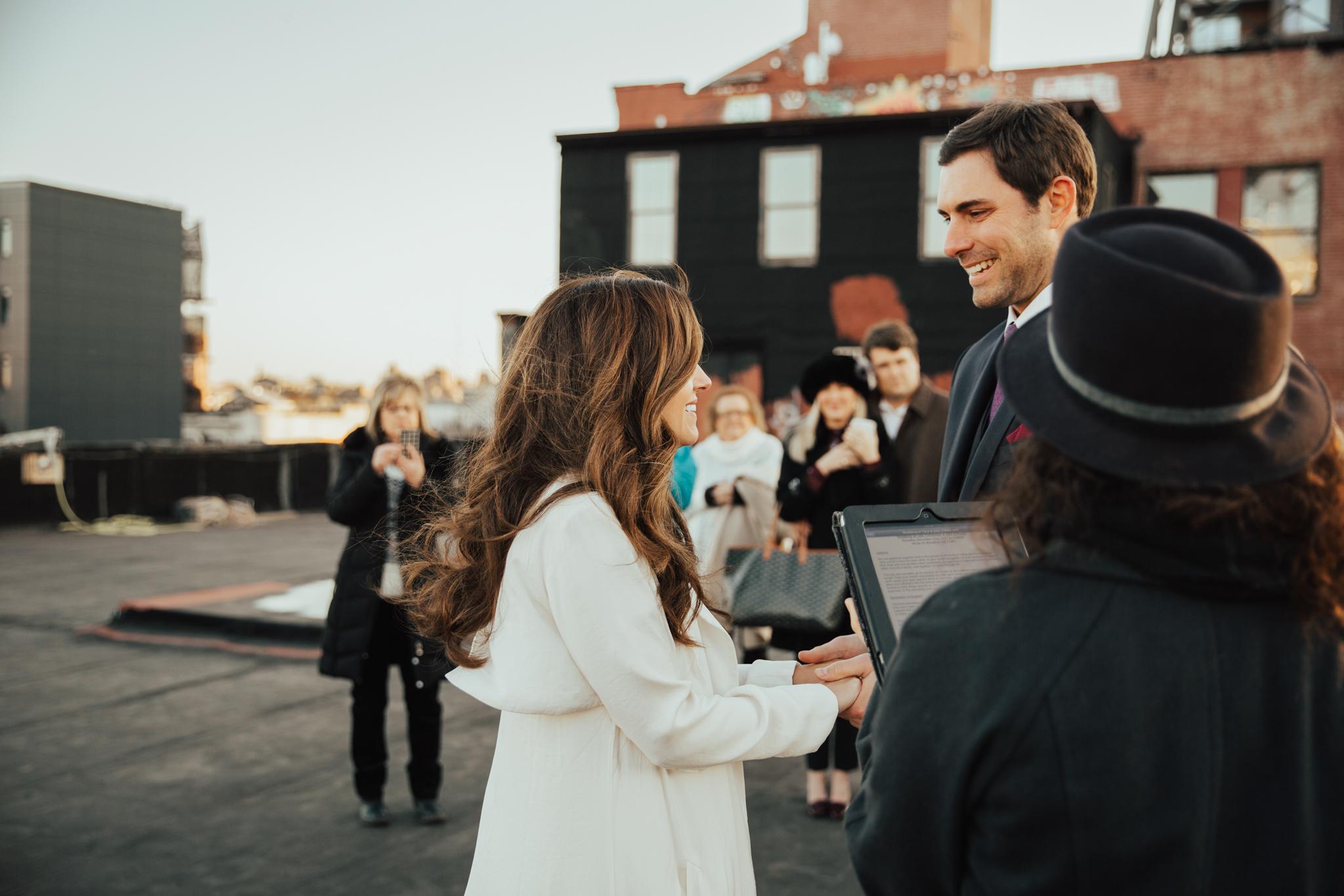 intimate new york wedding photography