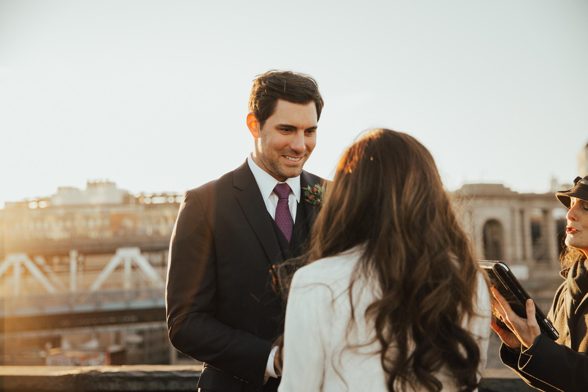 intimate nyc wedding photography