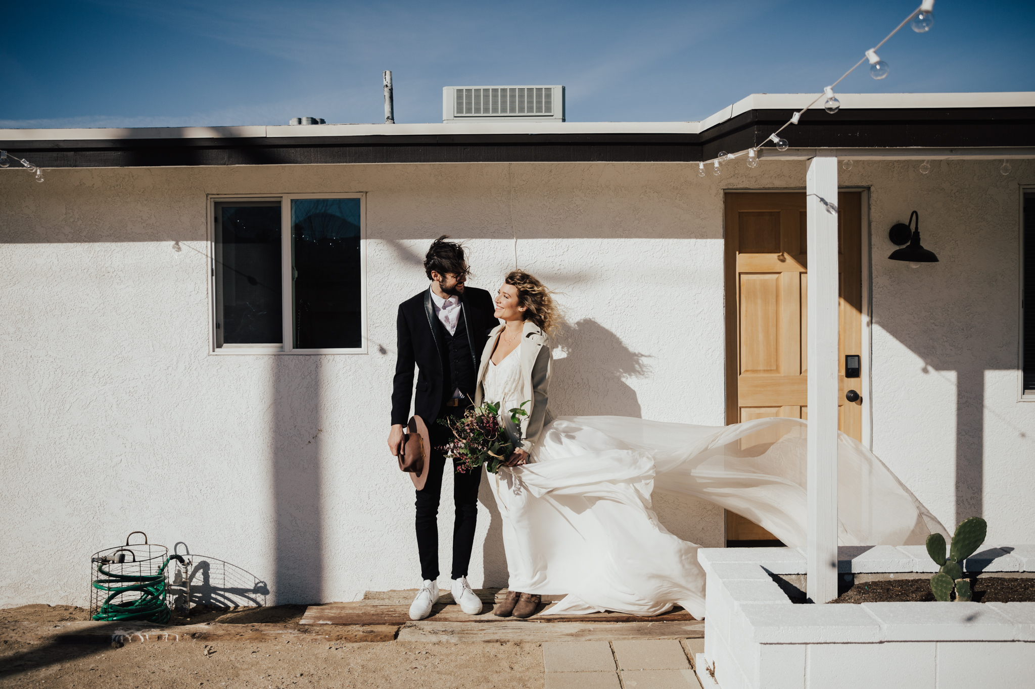 joshua tree air bnb elopement