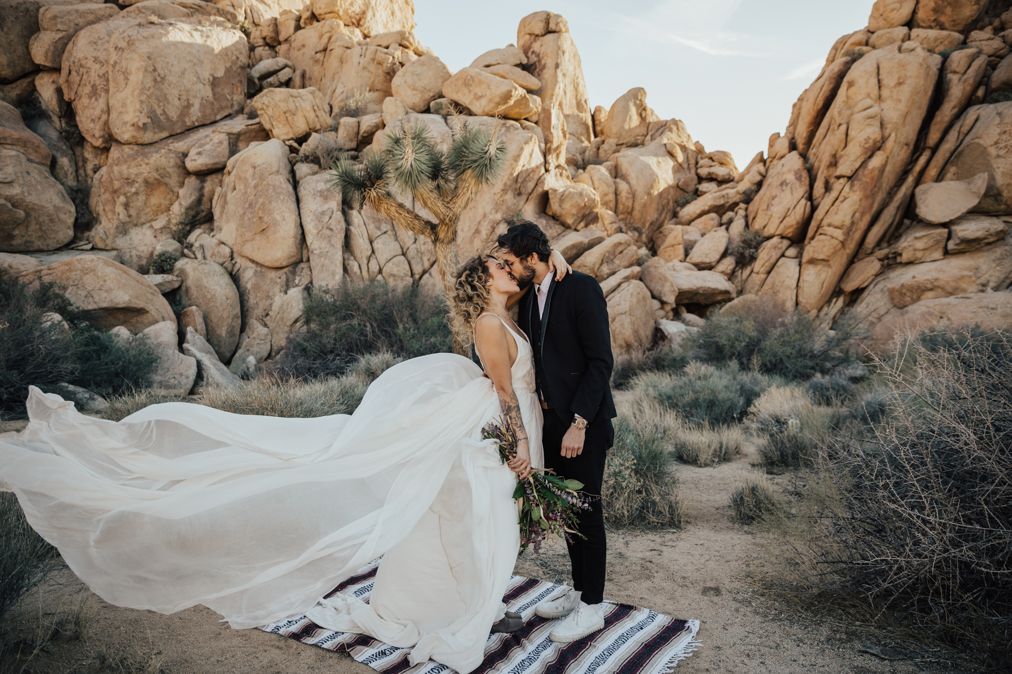California Desert Elopement
