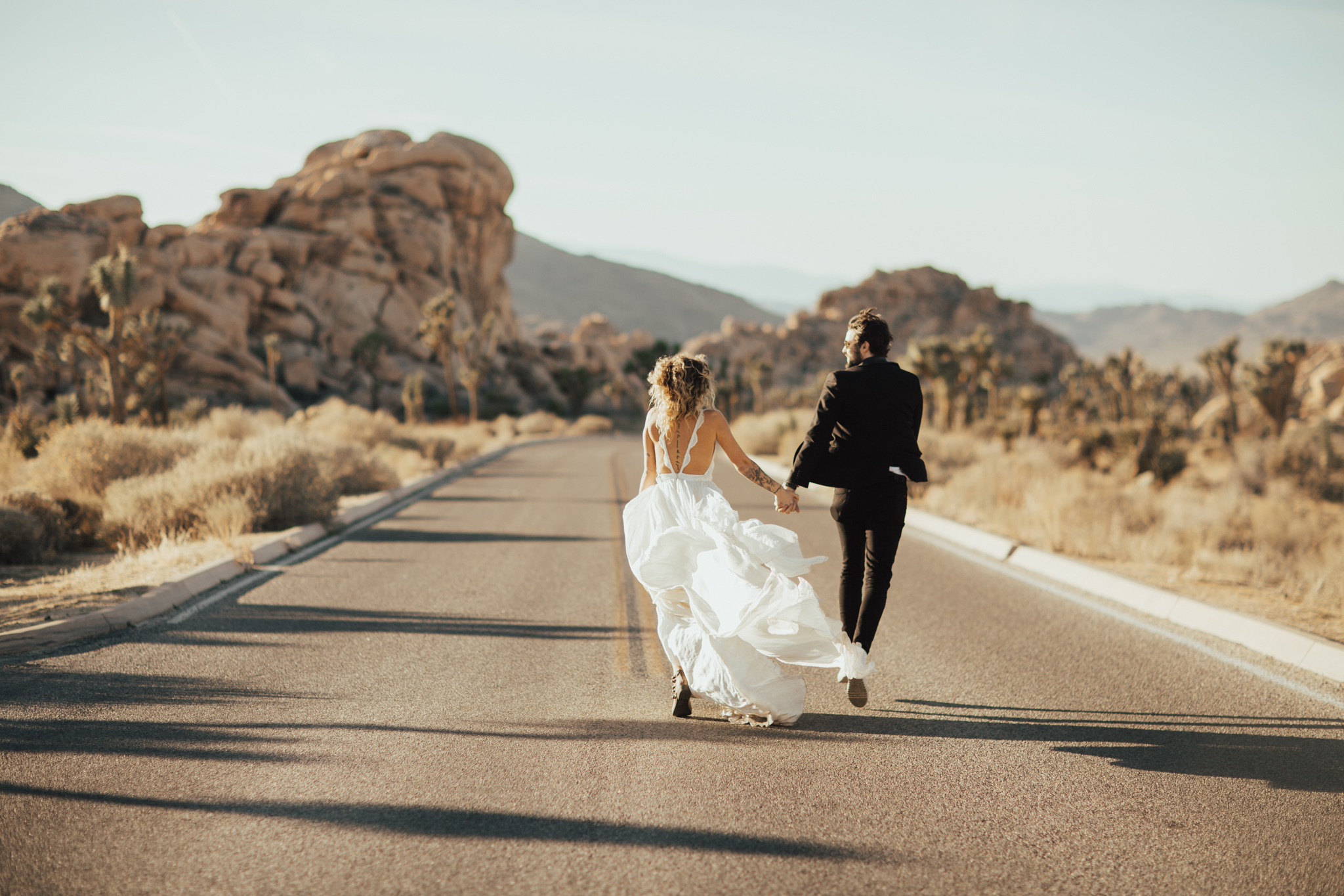 Adventure wedding california