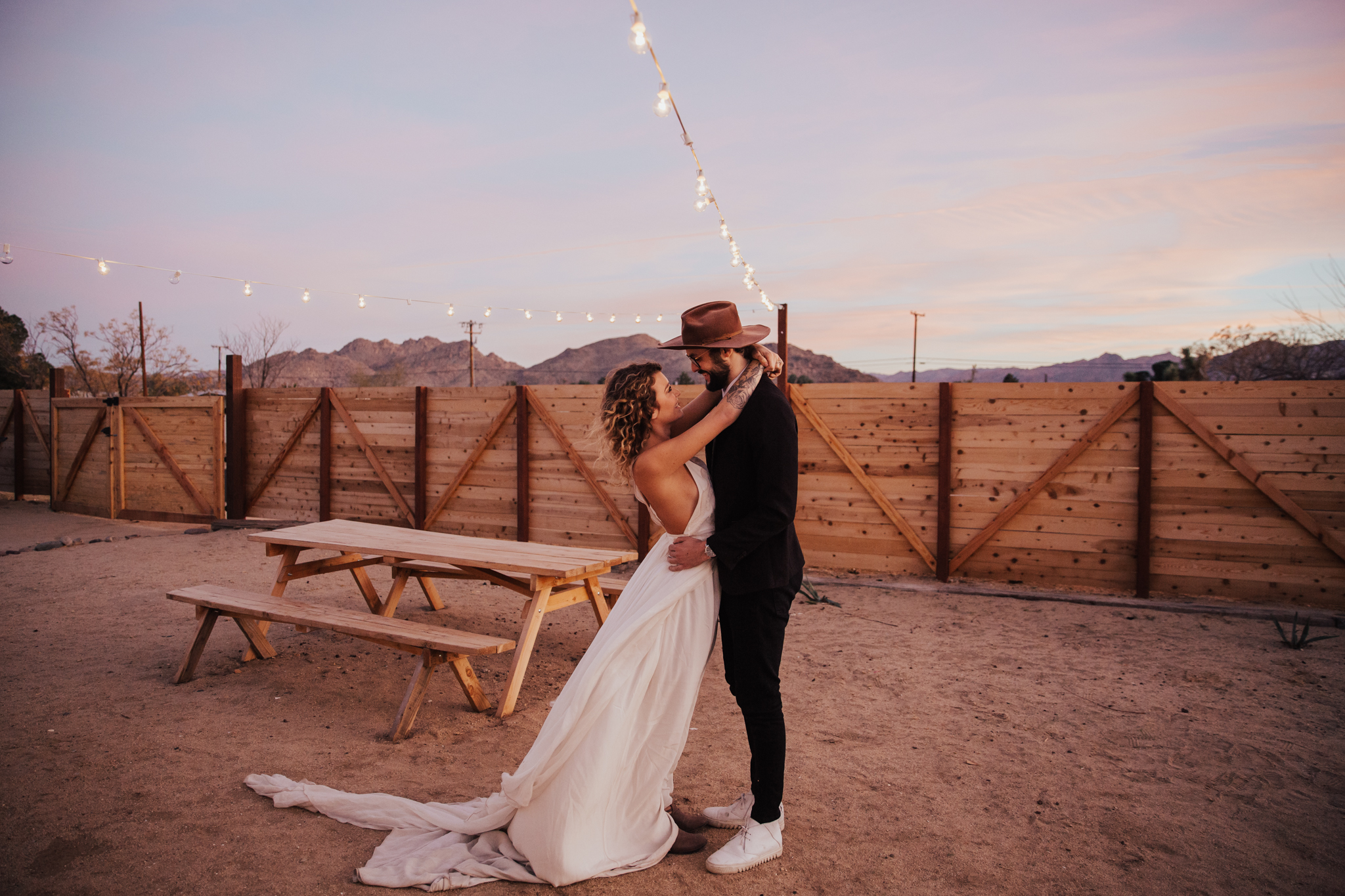 First dance joshua tree