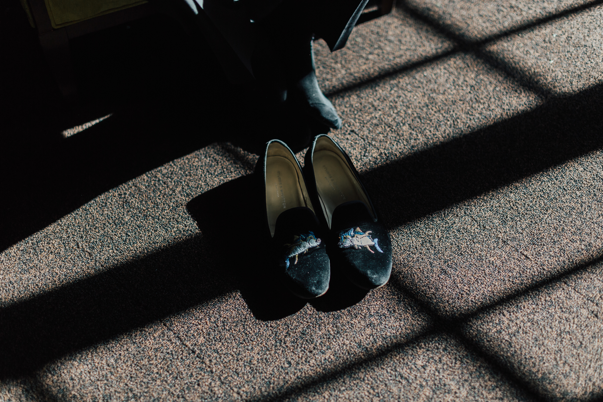 velvet loafers wedding shoes