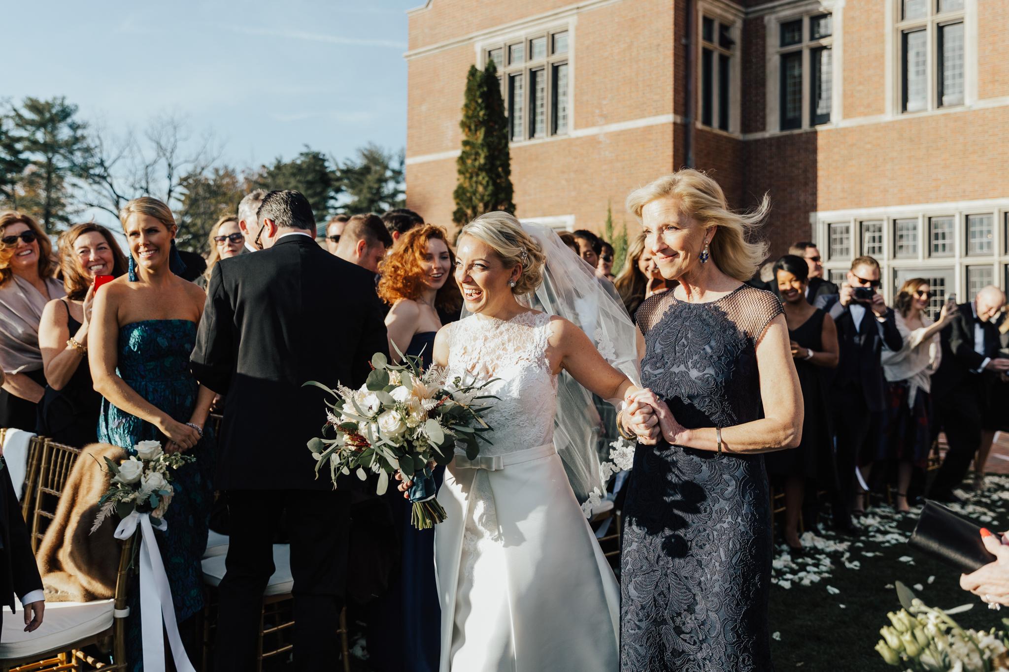 oheka castle autumn wedding