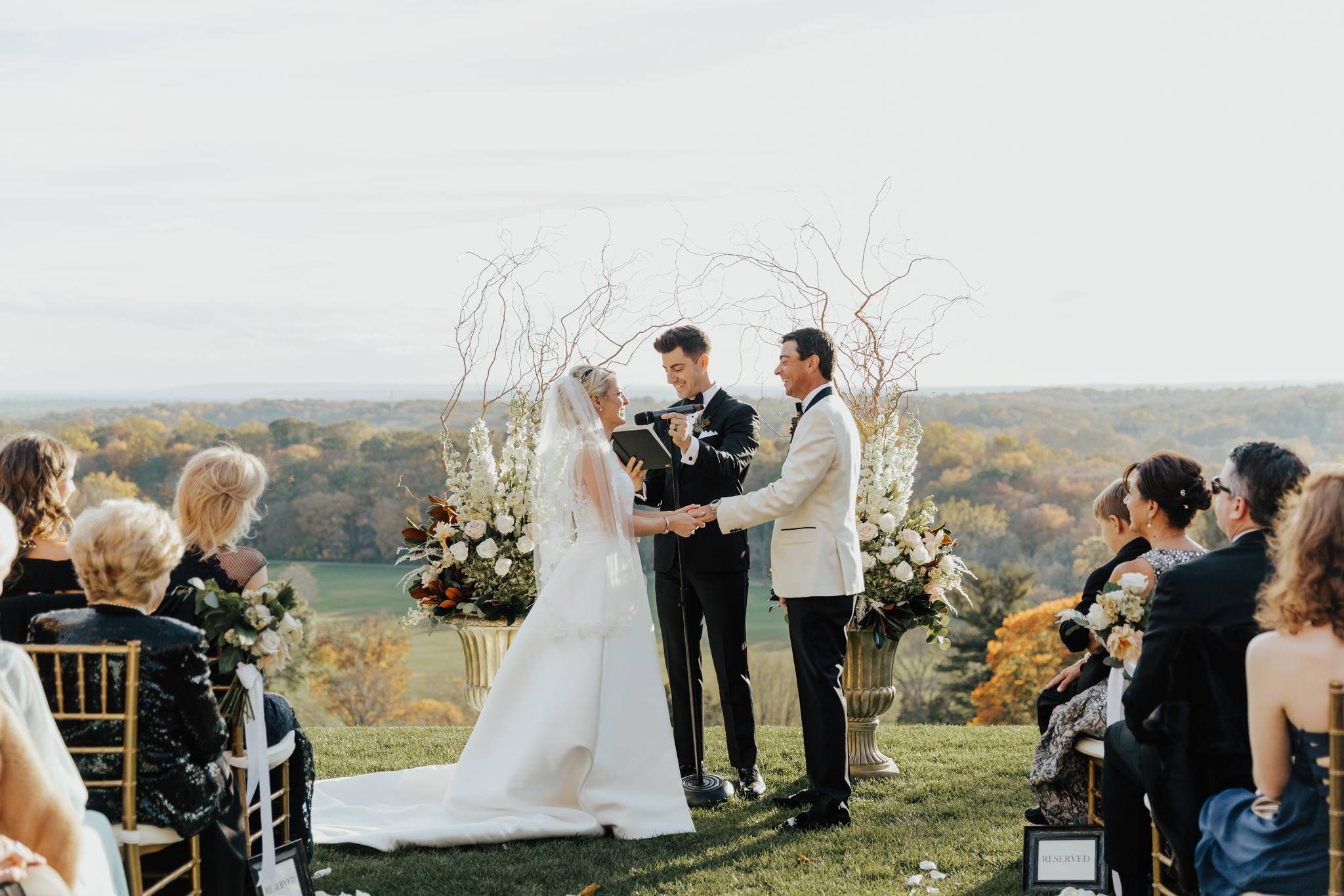 New York Seversky Mansion wedding