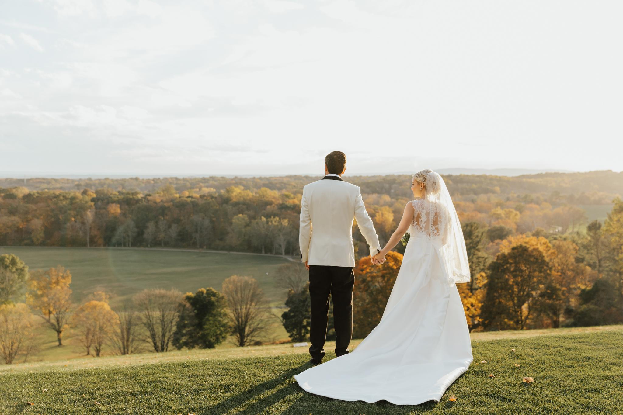 romantic hudson valley wedding photographer