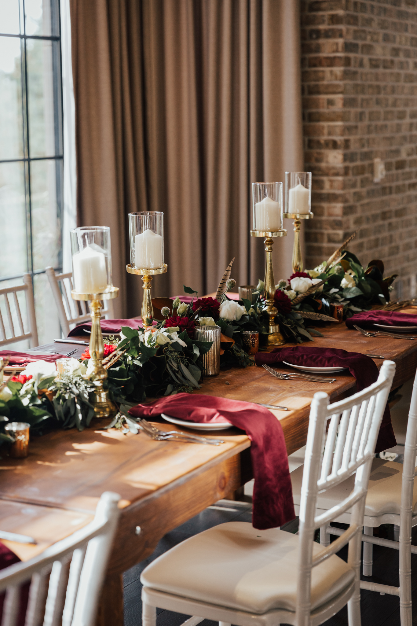 gorgeous fall wedding colors