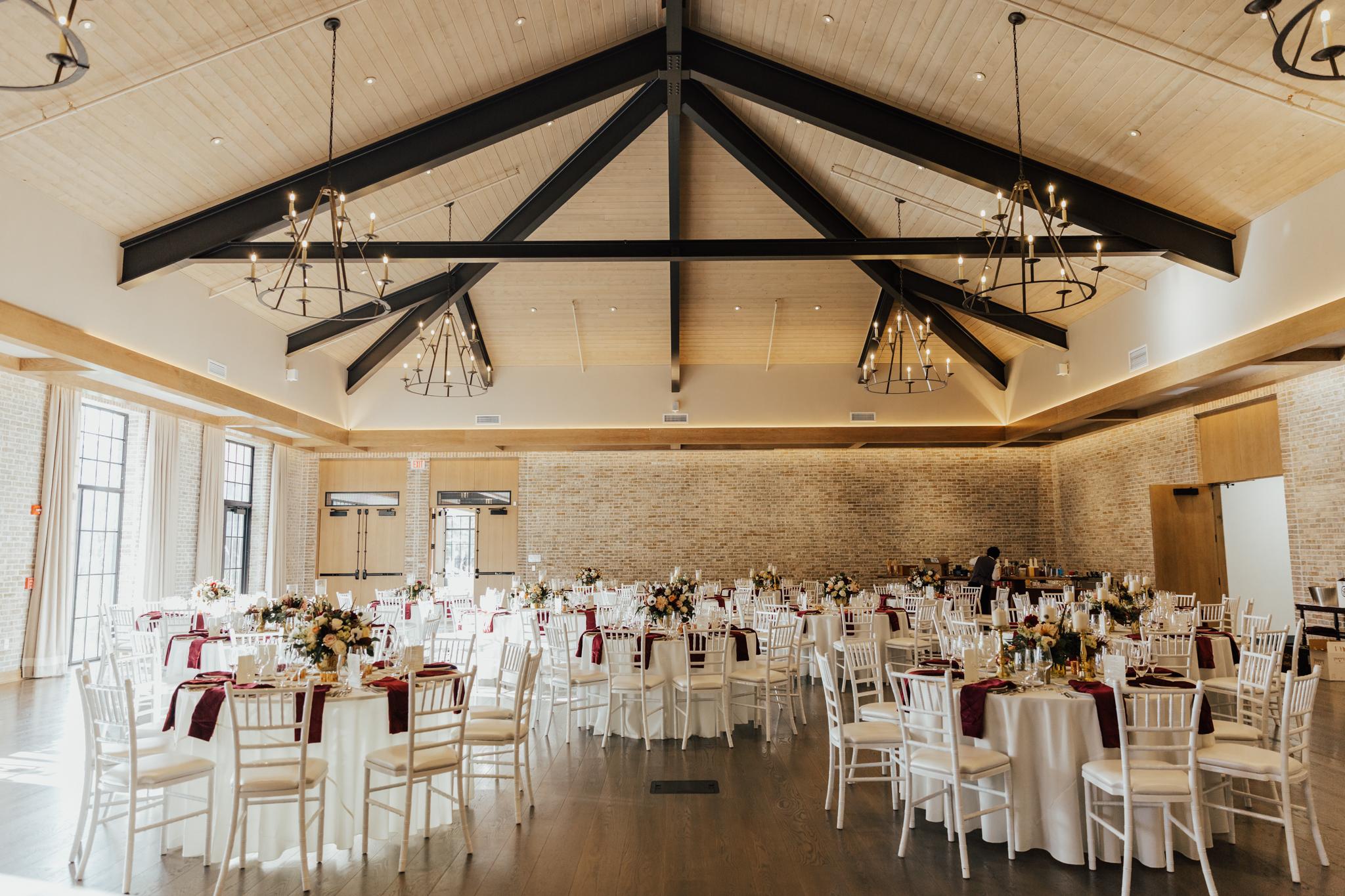 mansion at natirar fall wedding