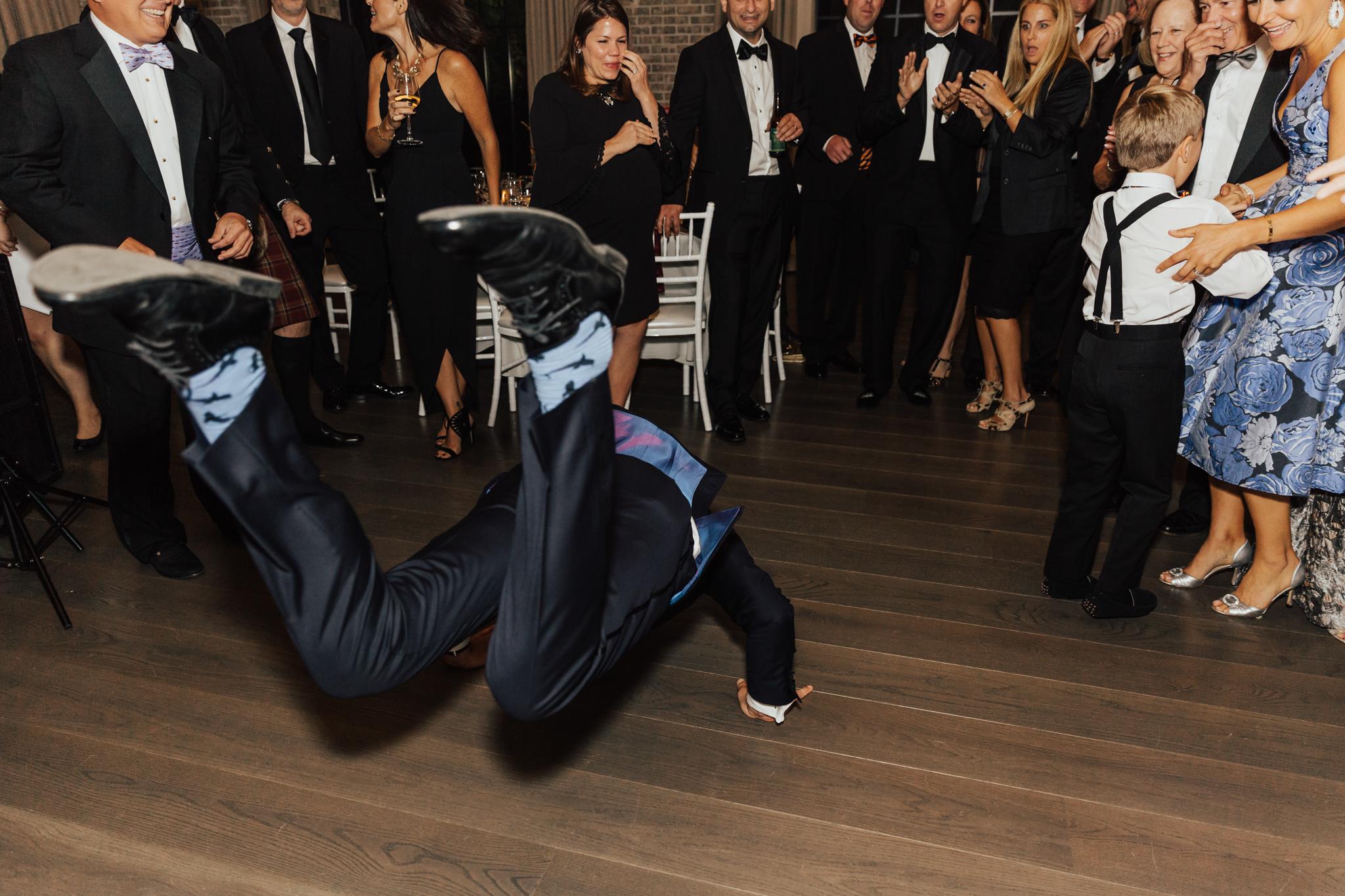 fun dancing wedding shots