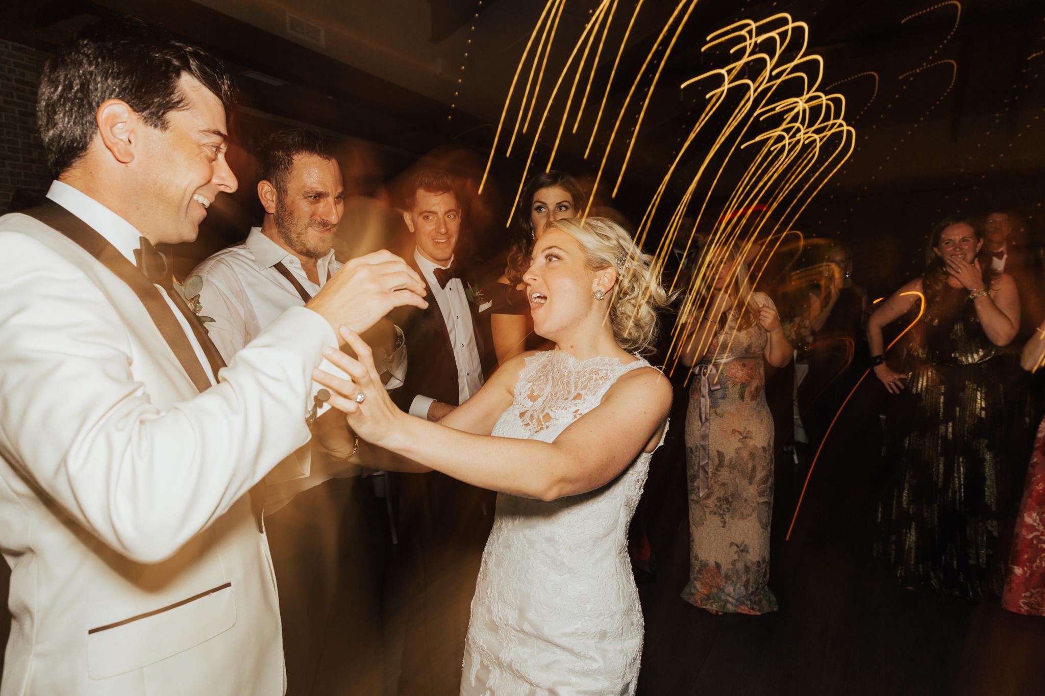 fun reception photos new york
