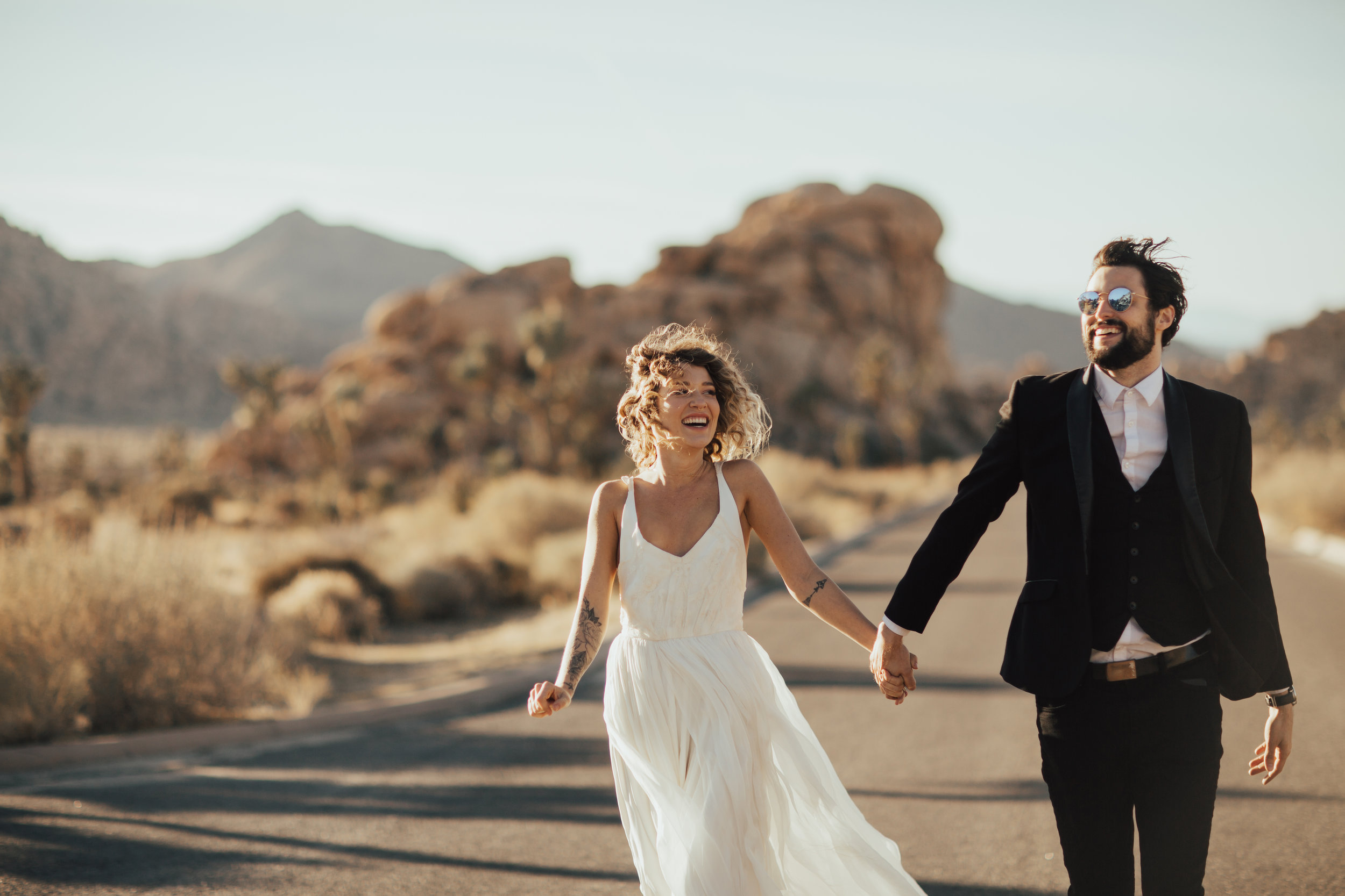 desert adventure wedding