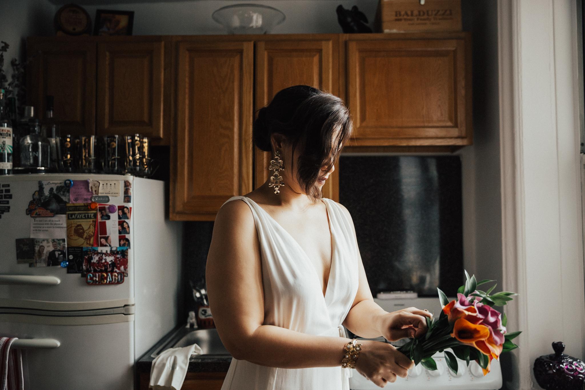 bride diy bouquet