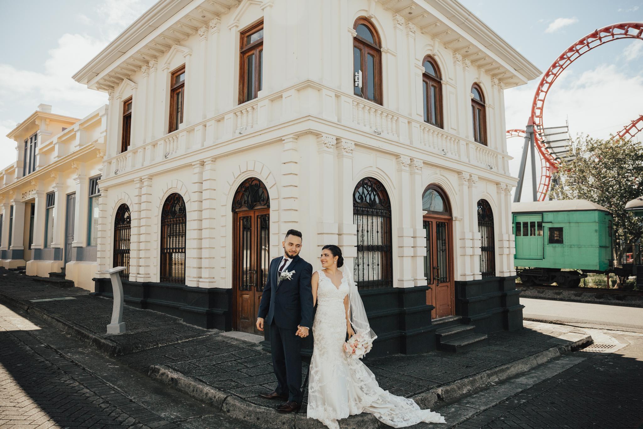 Hotel Villa Caletas wedding