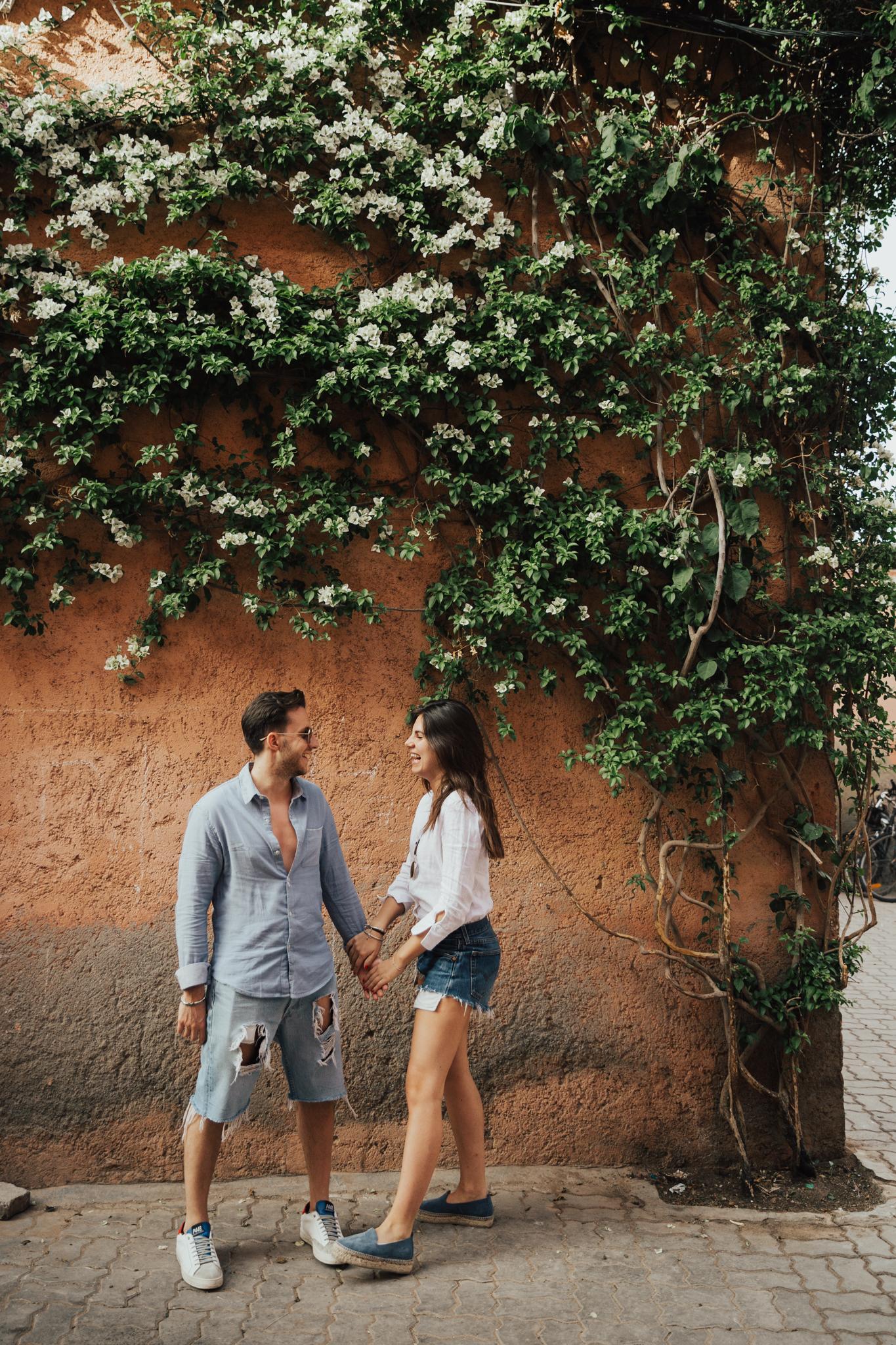 marrakech engagement photos