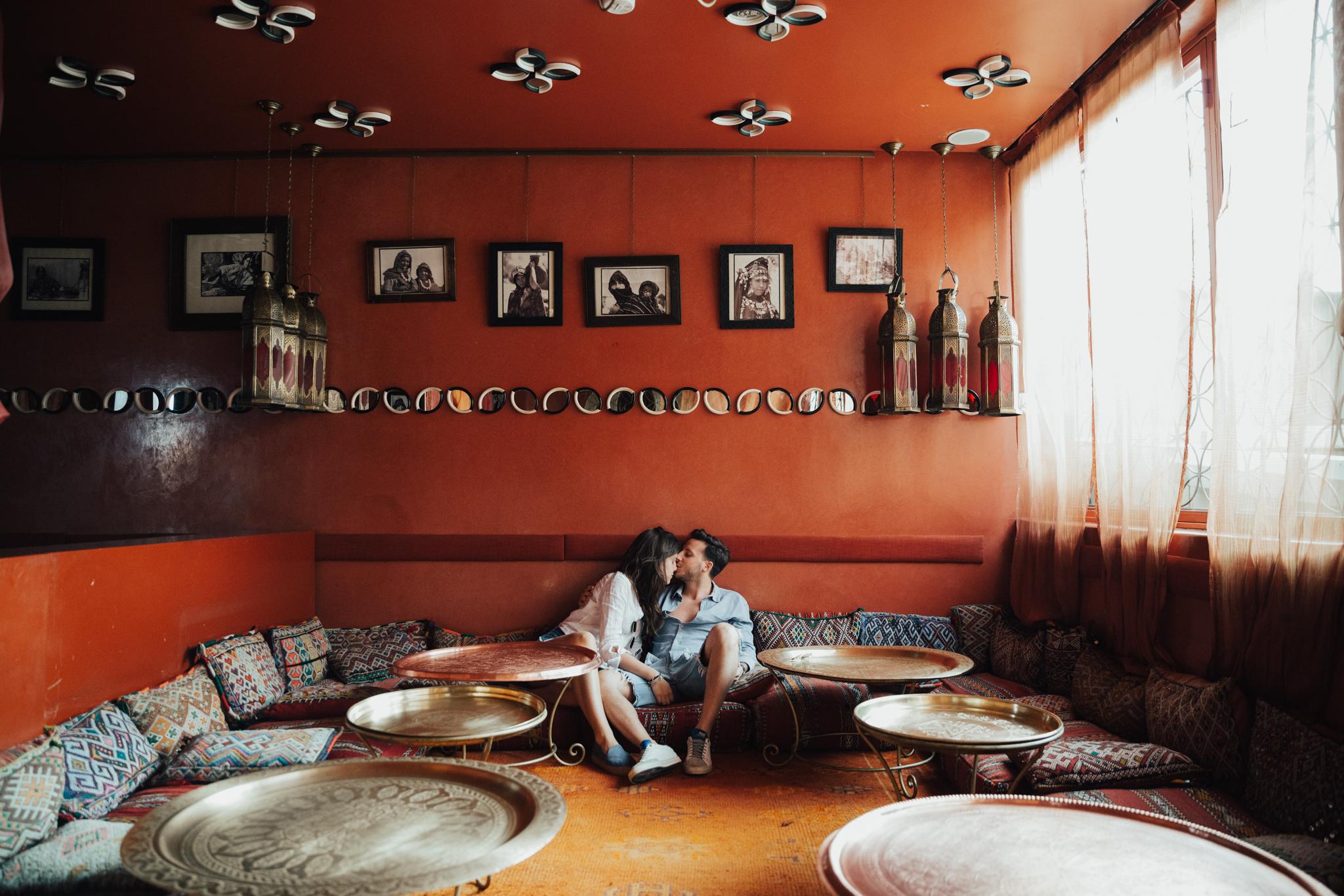 Intimate morocco wedding