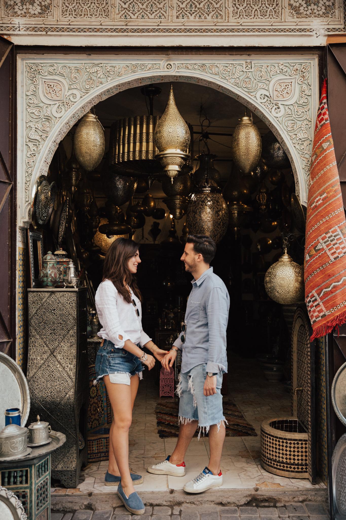 Destination elopement morocco