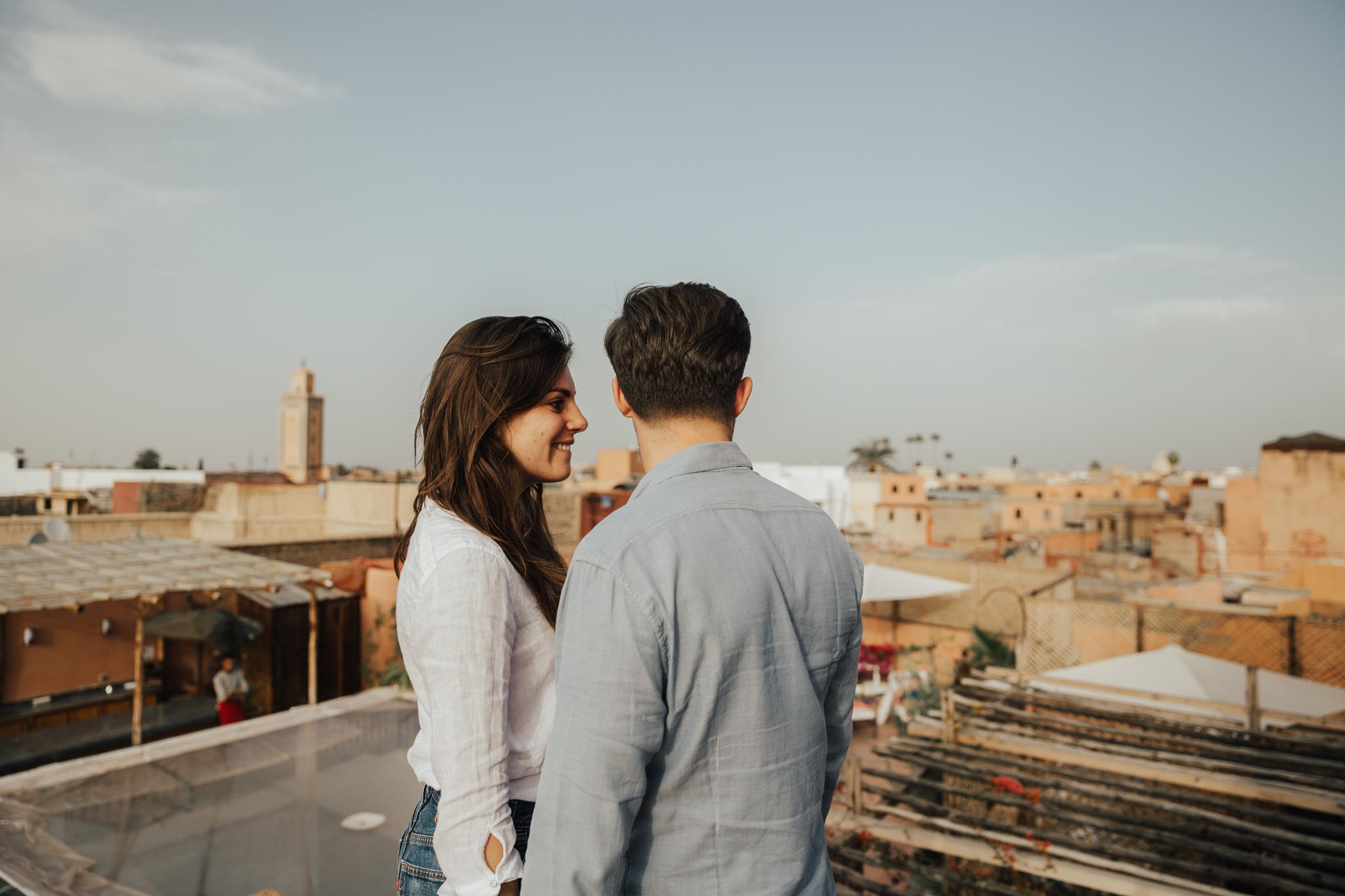 marrekech morocco rooftop