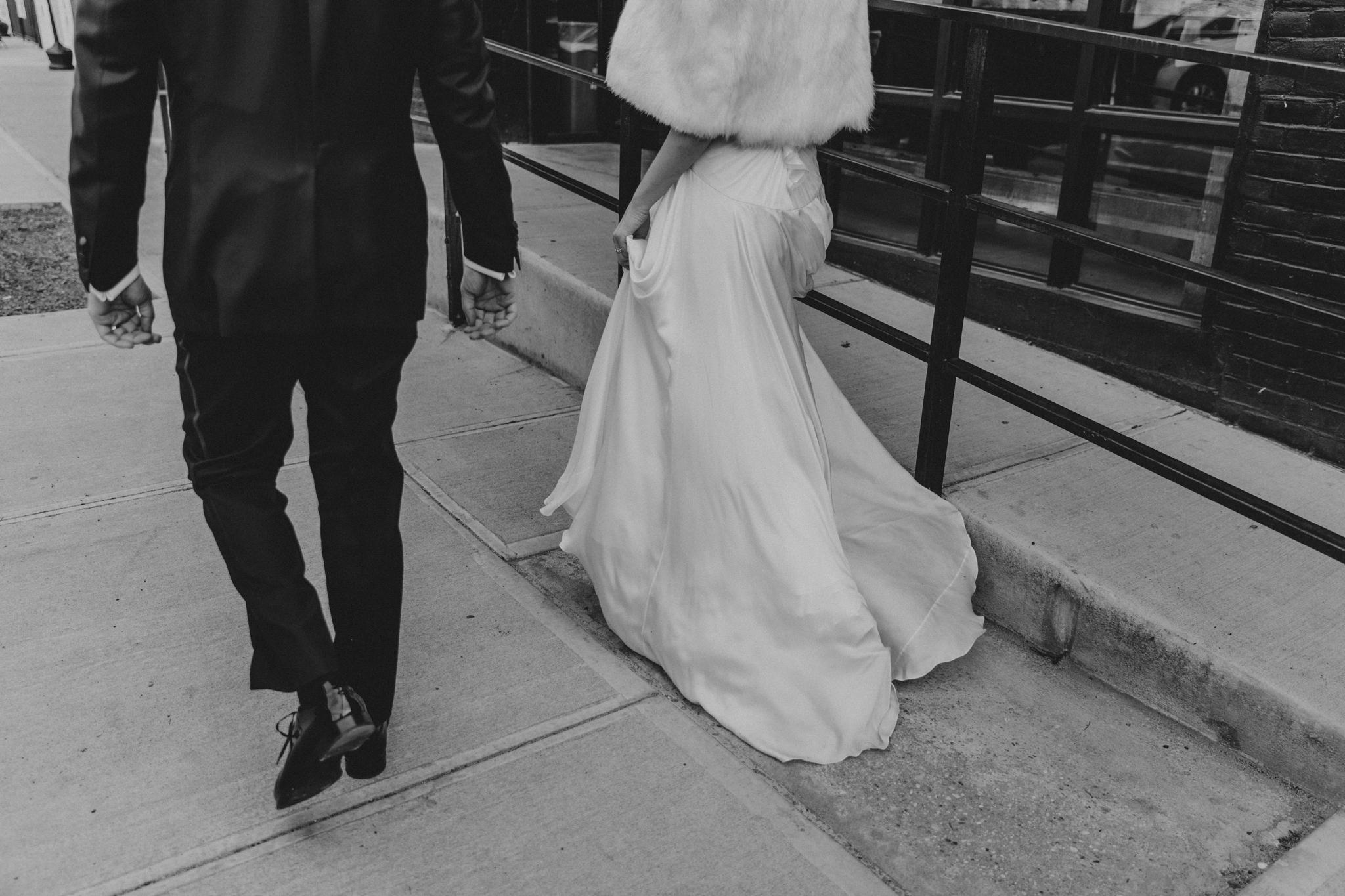 Alternative wedding Creative Bride