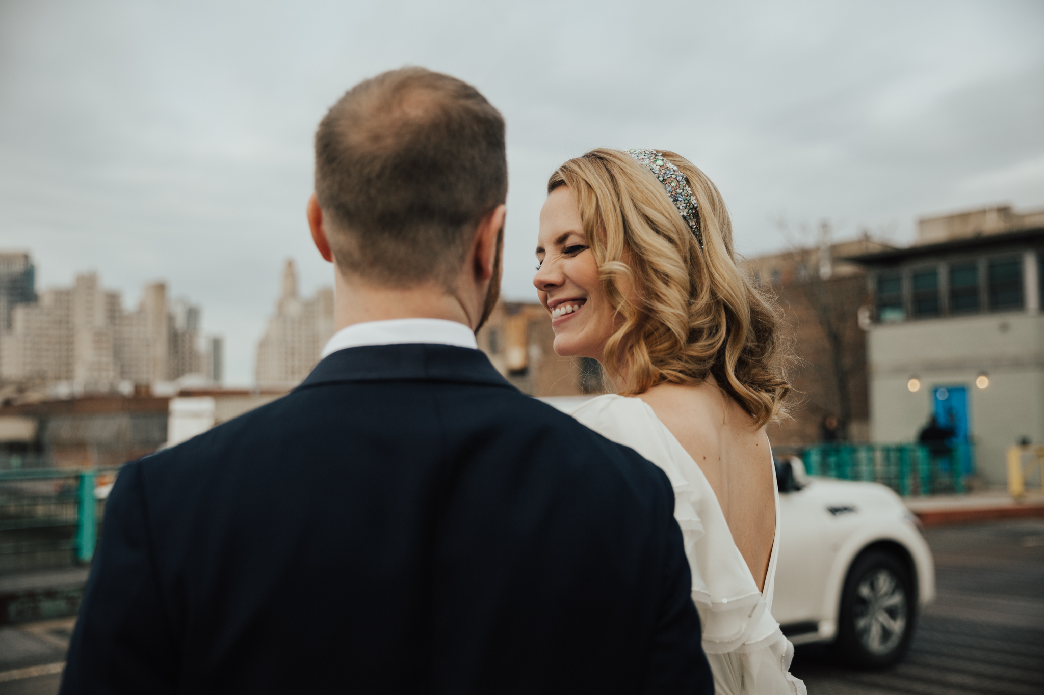 Intimate summer elopement nyc