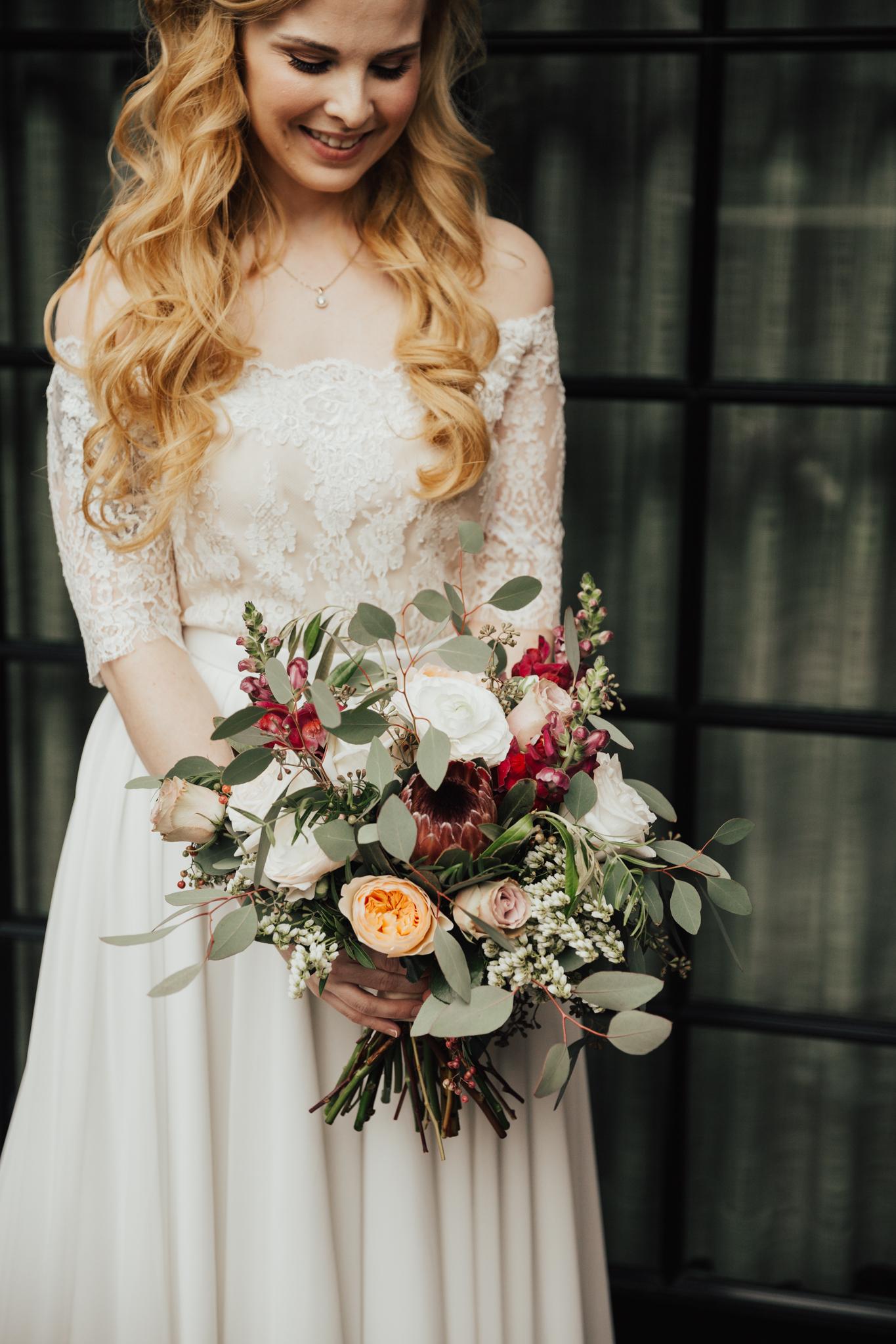 boho bridal look nyc
