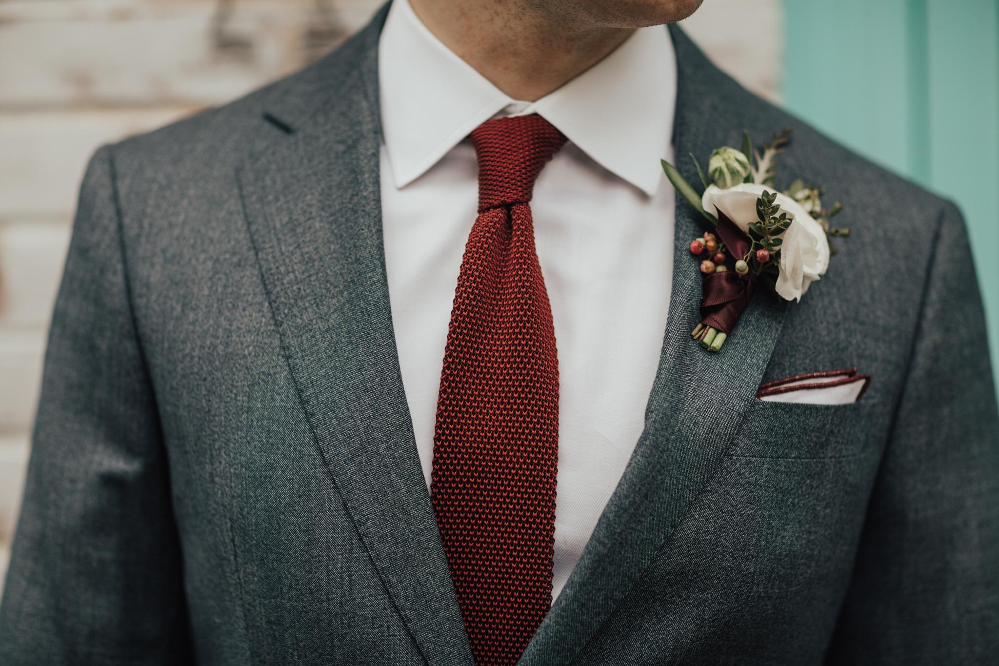 black lapel custom grooms suit
