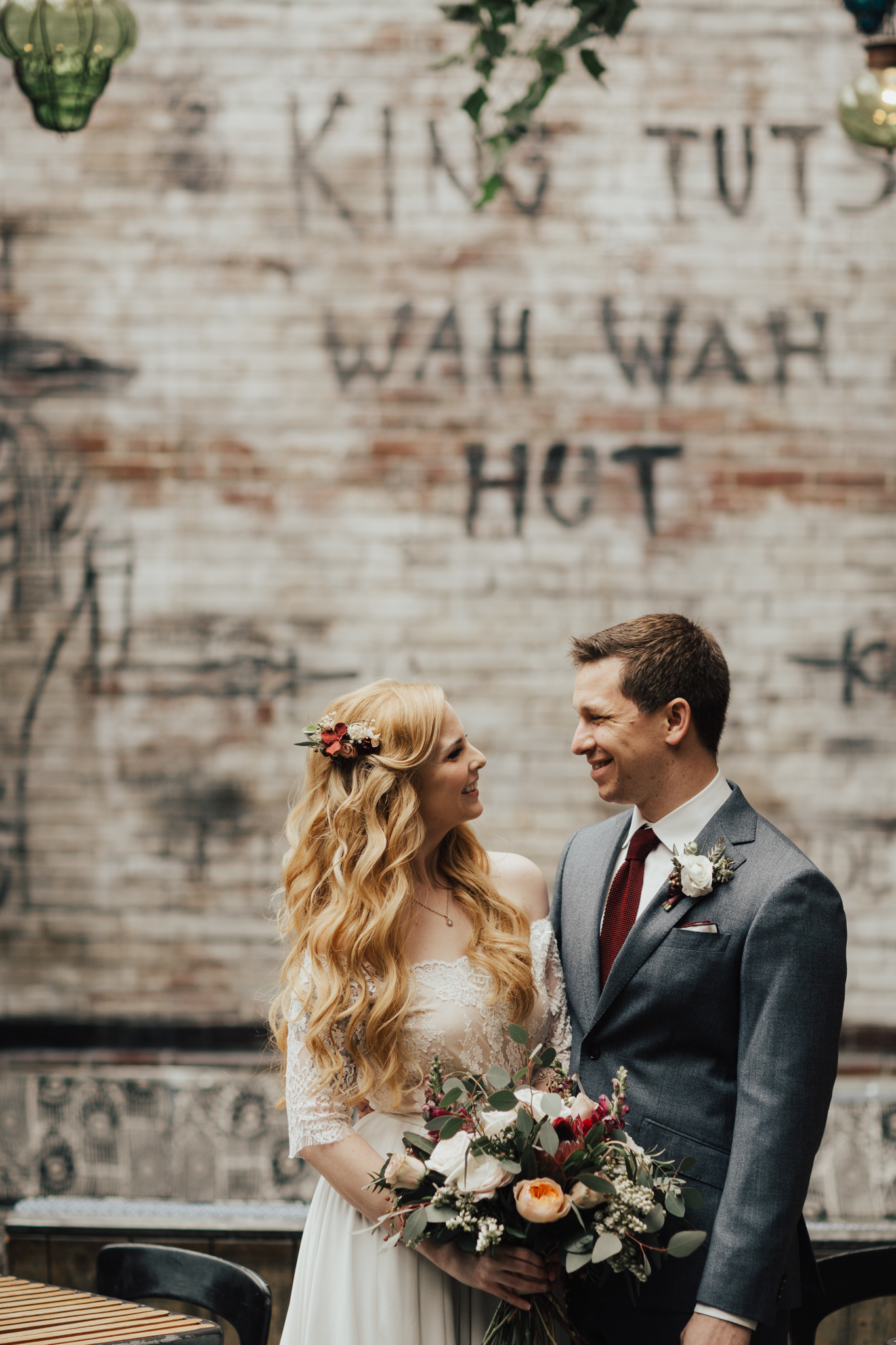 hipster nyc wedding photography
