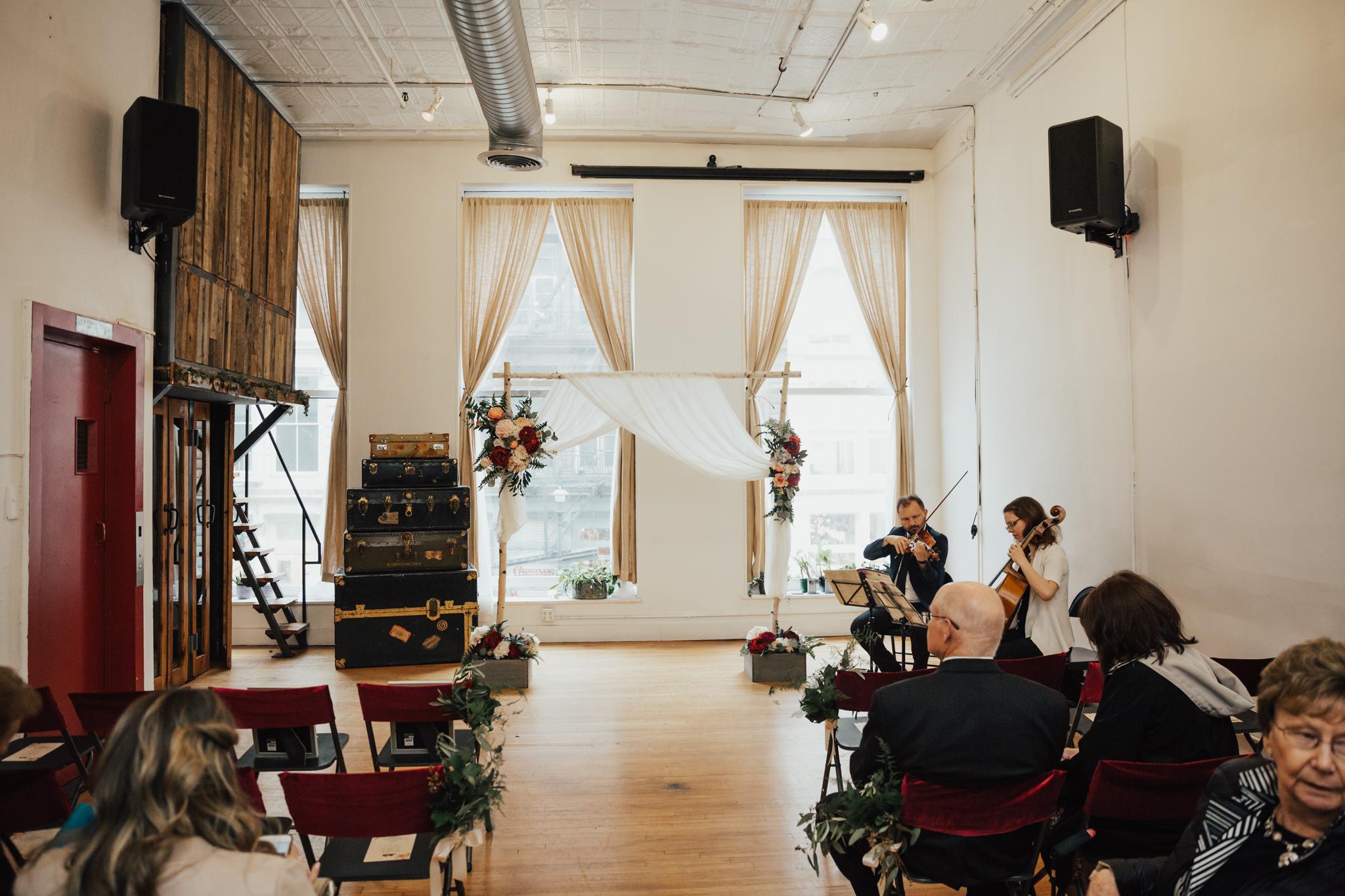 freemans alley intimate wedding