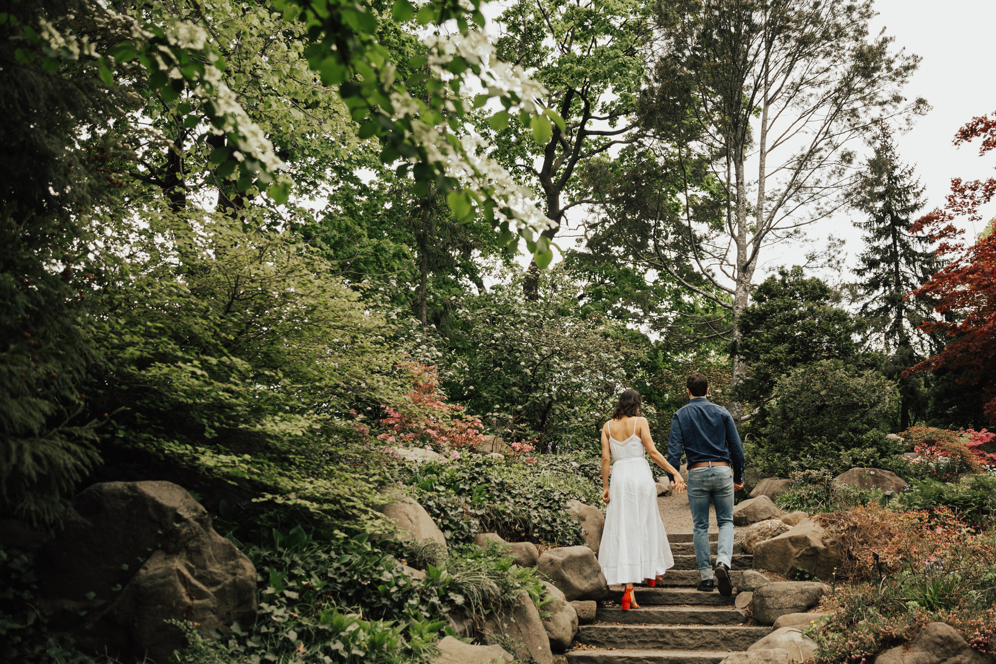 New York Romantic wedding photography