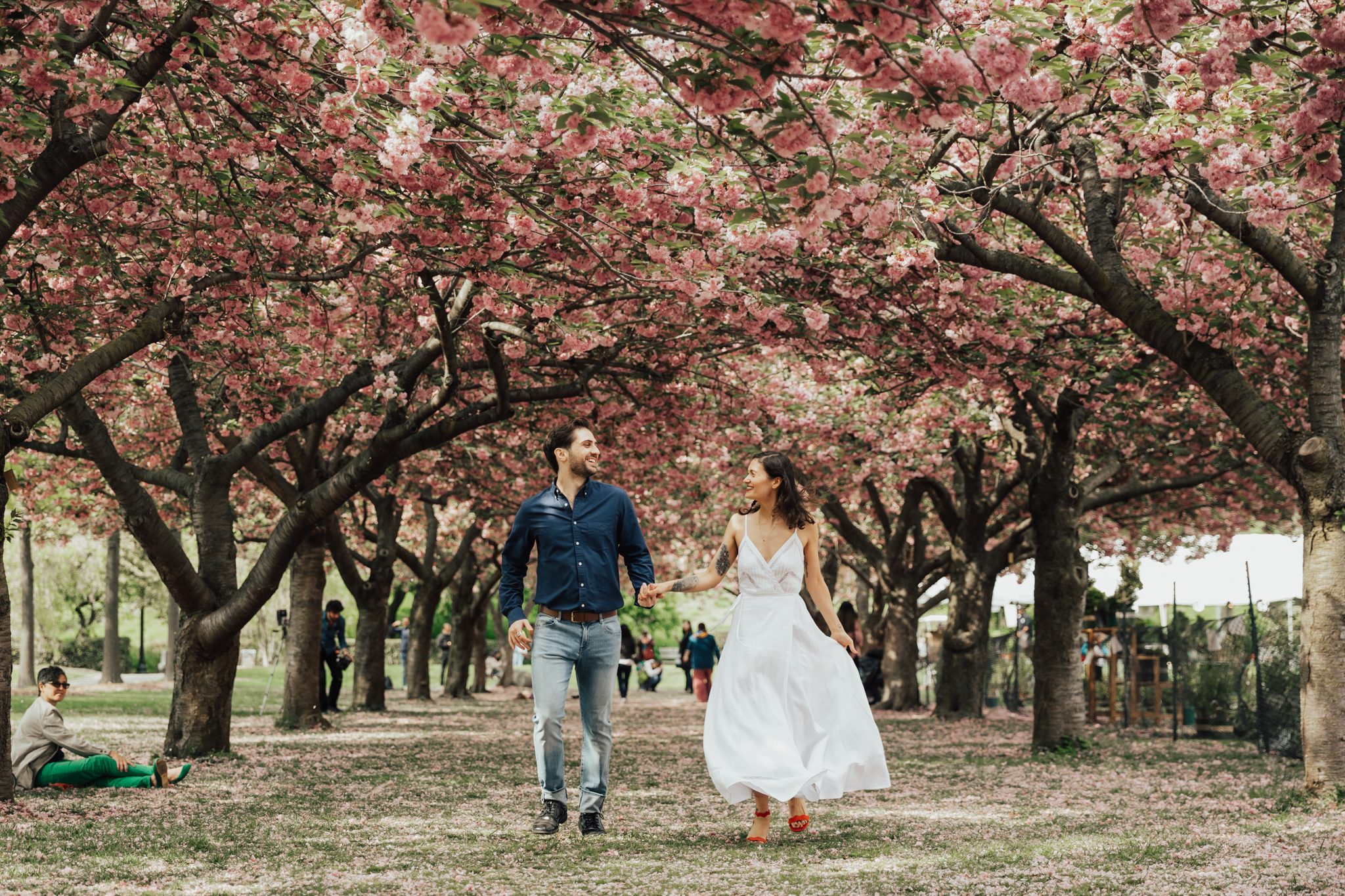 Wedding at Brooklyn Botanic Gardens
