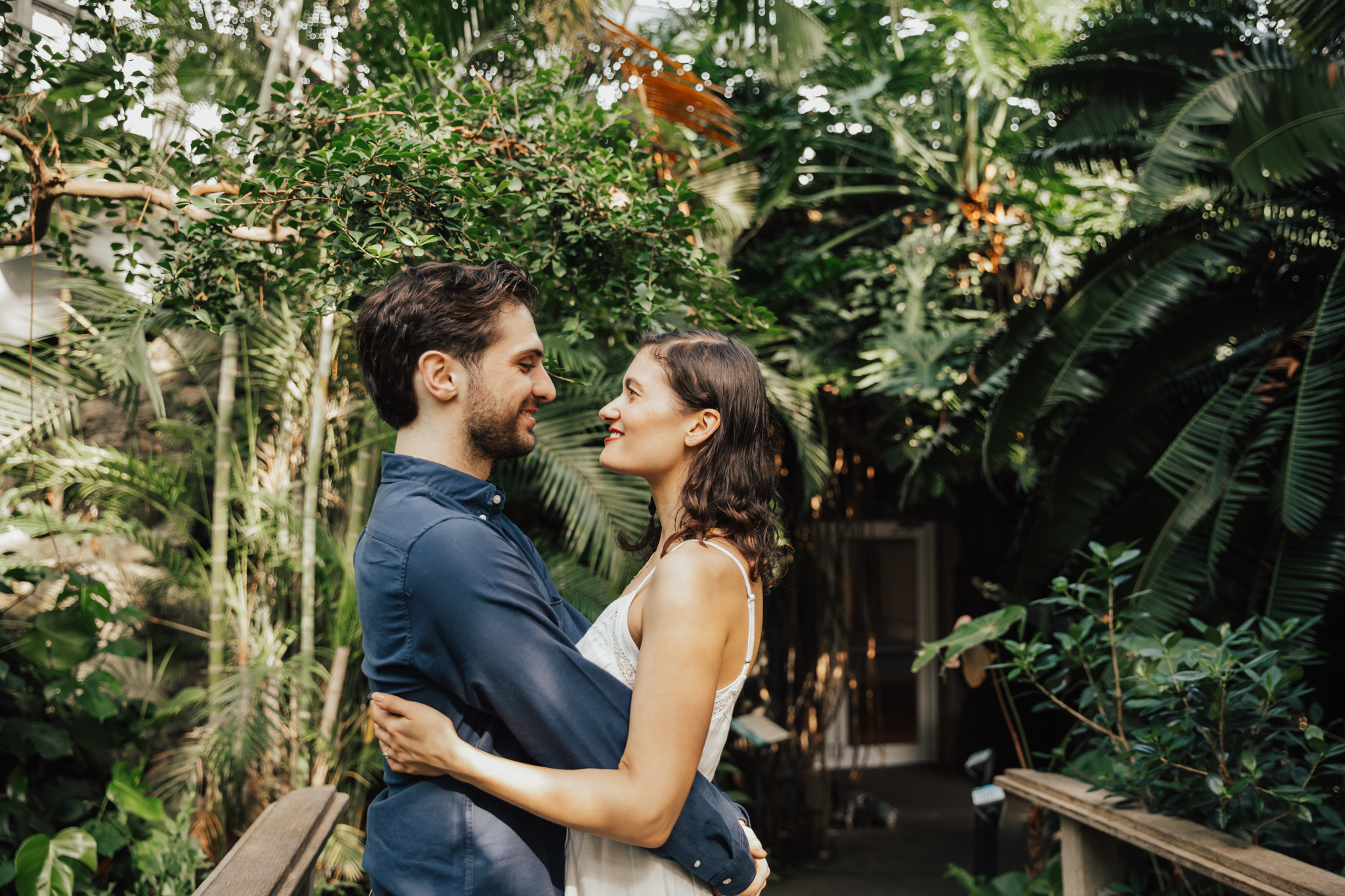 brooklyn greenhouse wedding