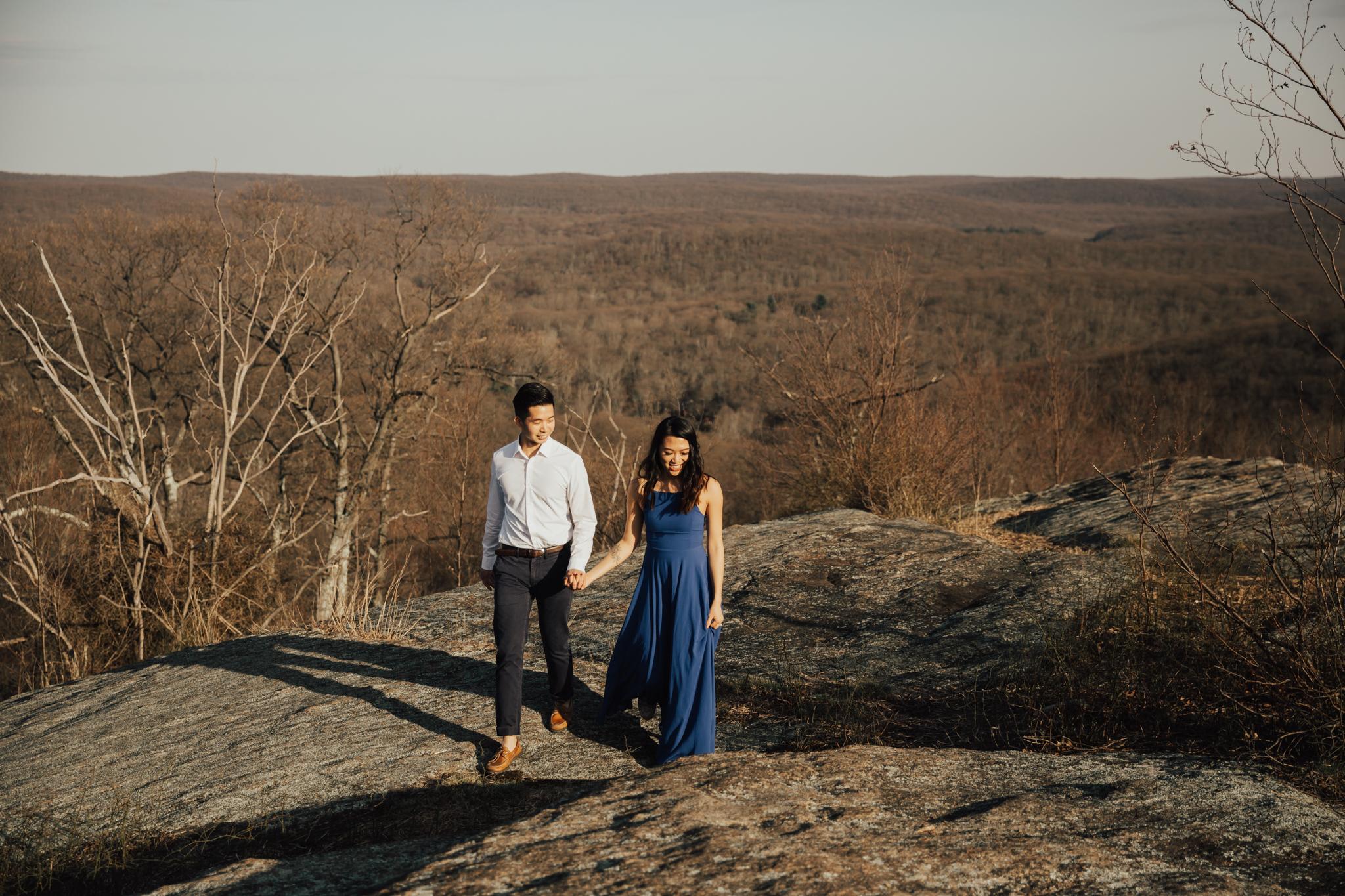 bhldn engagement dress