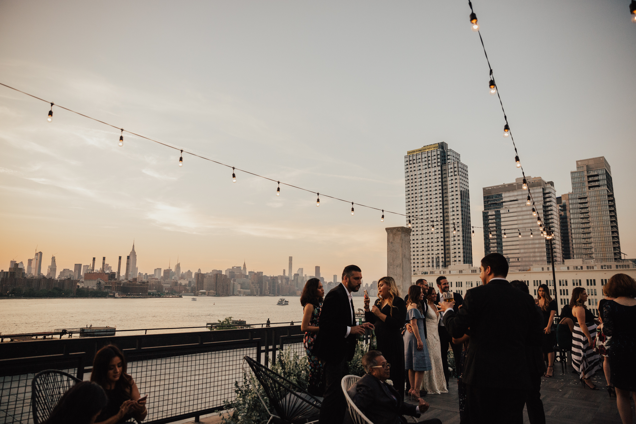 rooftop wedding nyc